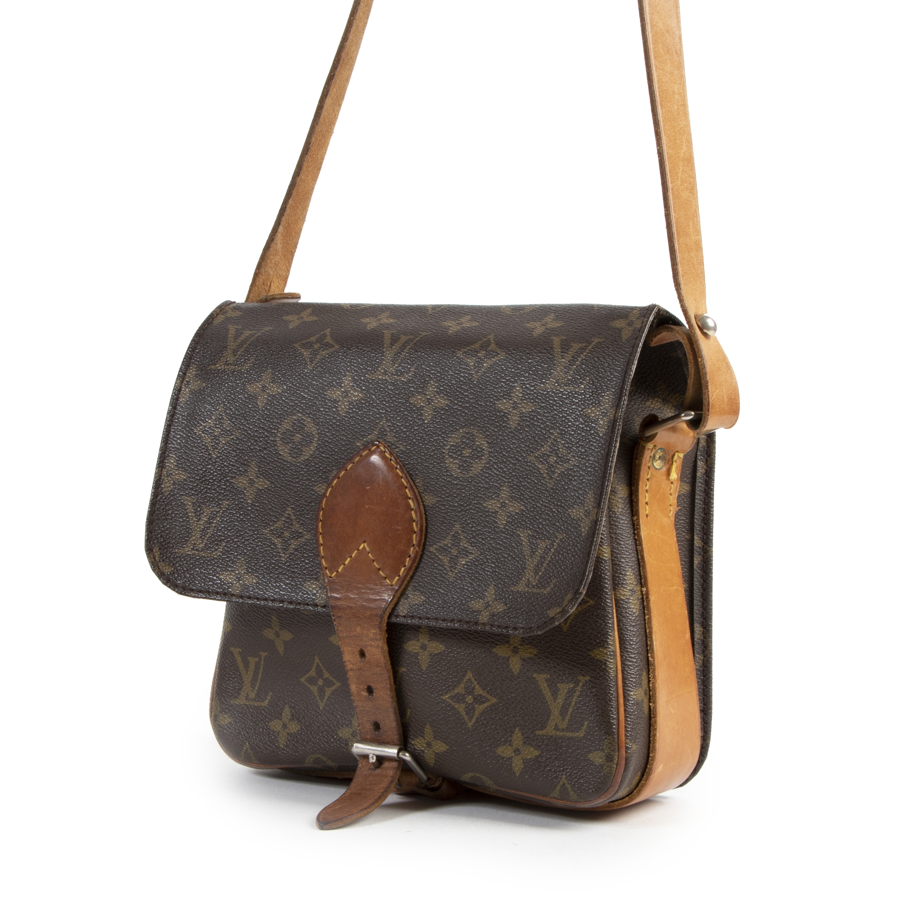 Louis Vuitton Cartouchiere GM Monogram Crossbody Bag