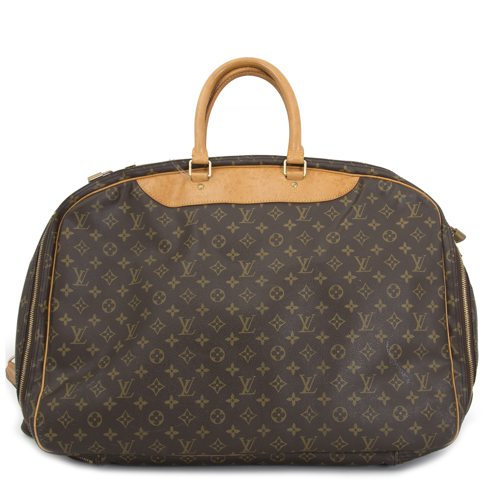 buy your preloved Louis Vuitton Monogram Alize 3 Compartment Luggage Travel Bag