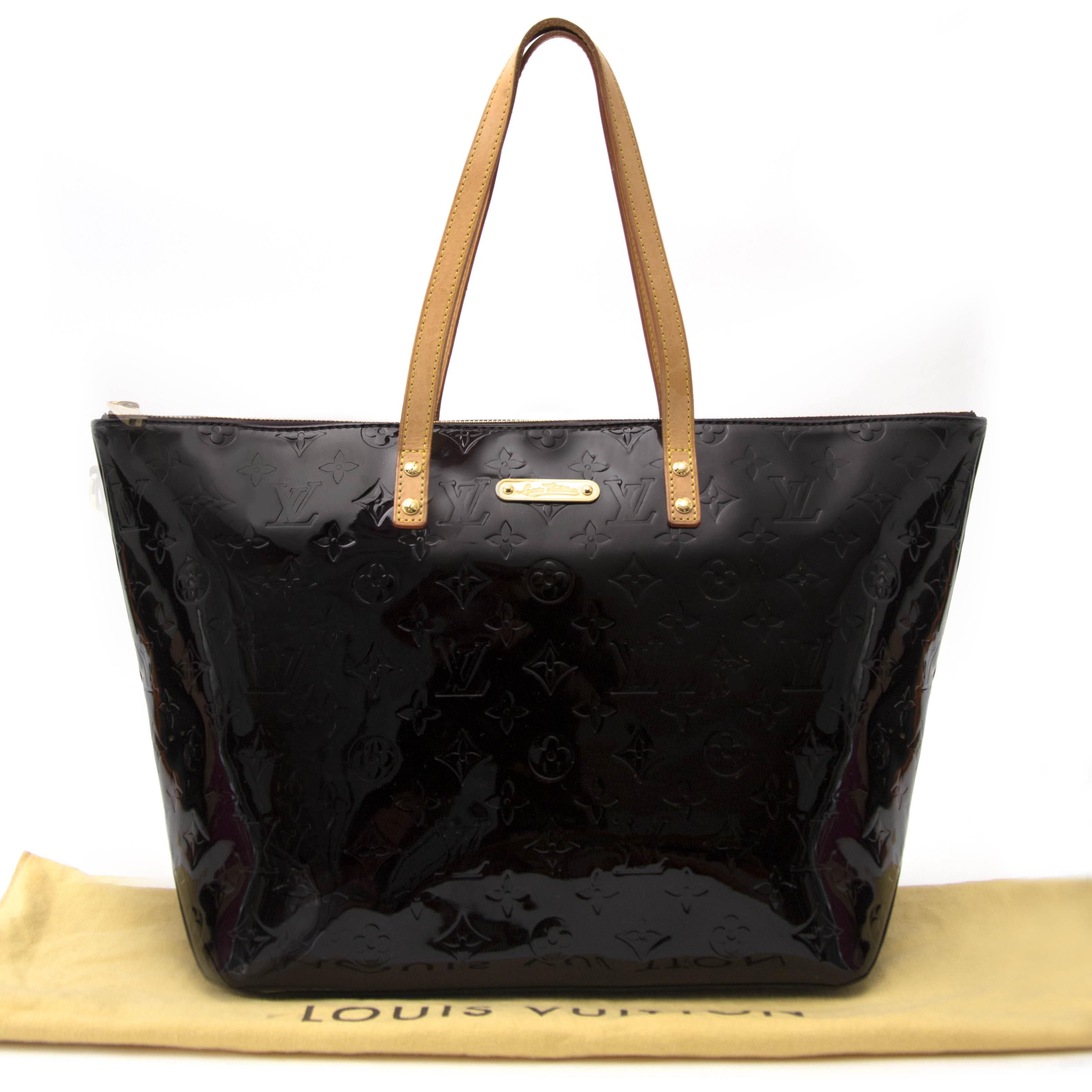74bcc17125b8 ... Louis Vuitton Amarante Monogram Vernis Bellevue GM Bag online aan de  beste prijs