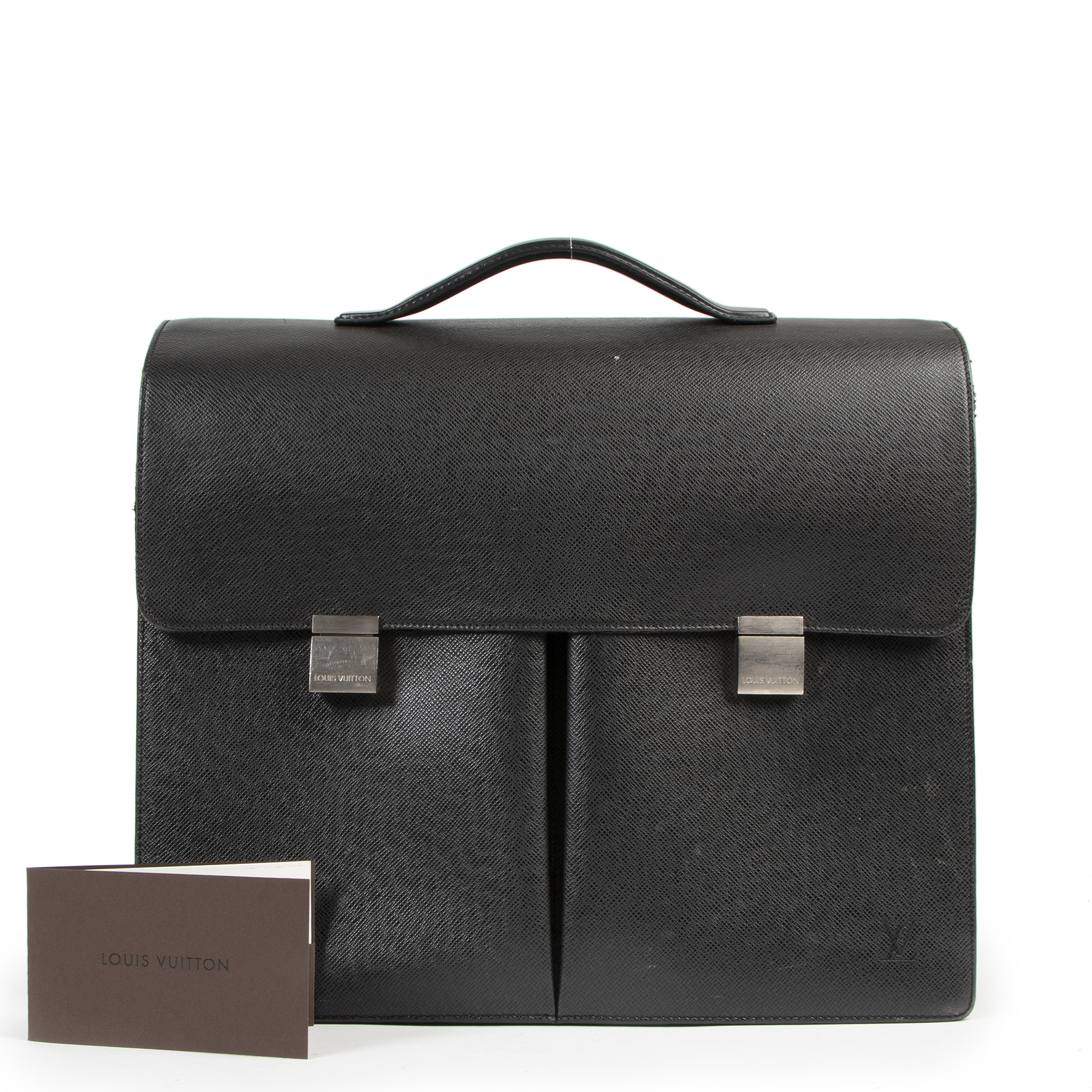 Louis Vuitton Taiga Khazan Briefcase