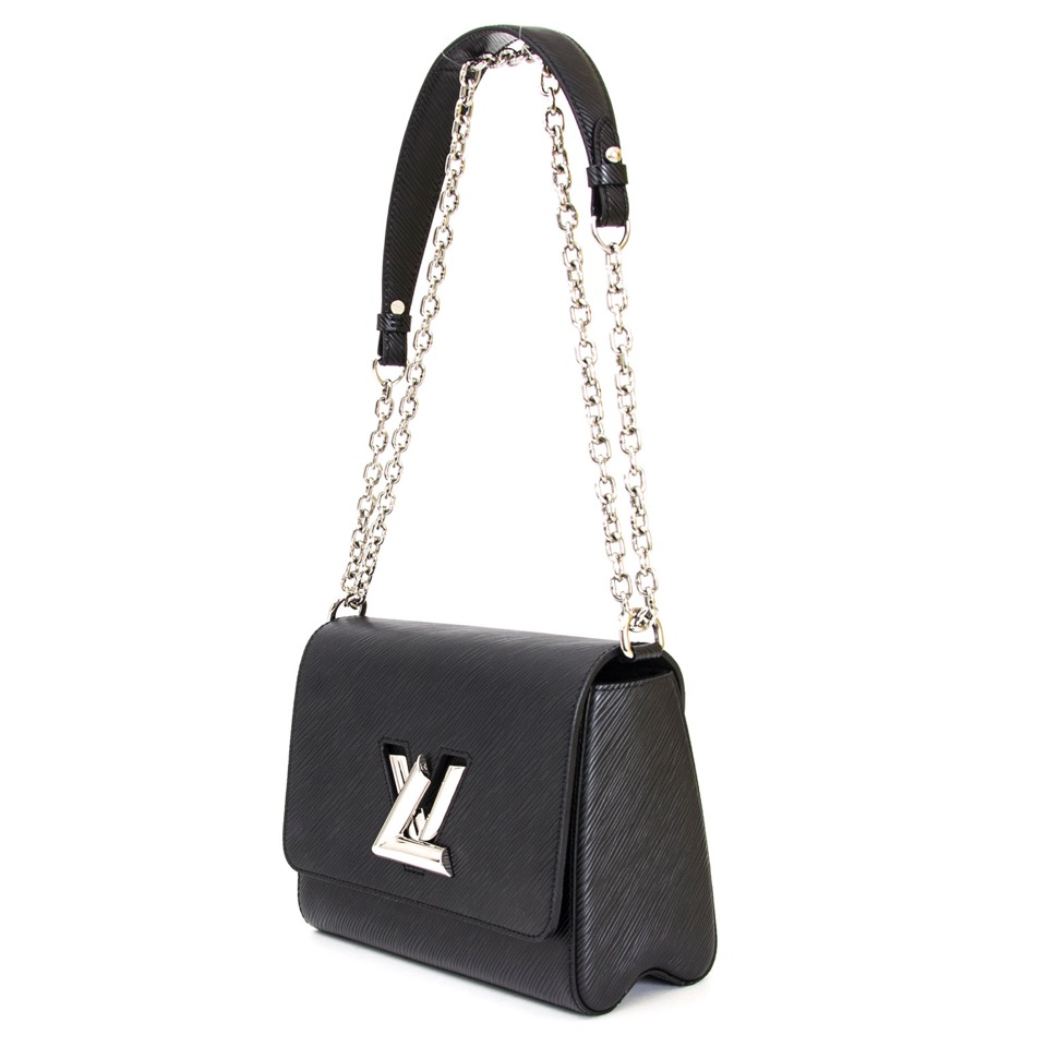 47bafbd85a343 ... Buy Louis Vuitton twist epi black mm 23 at the right price at LabelLOV  vintage webshop