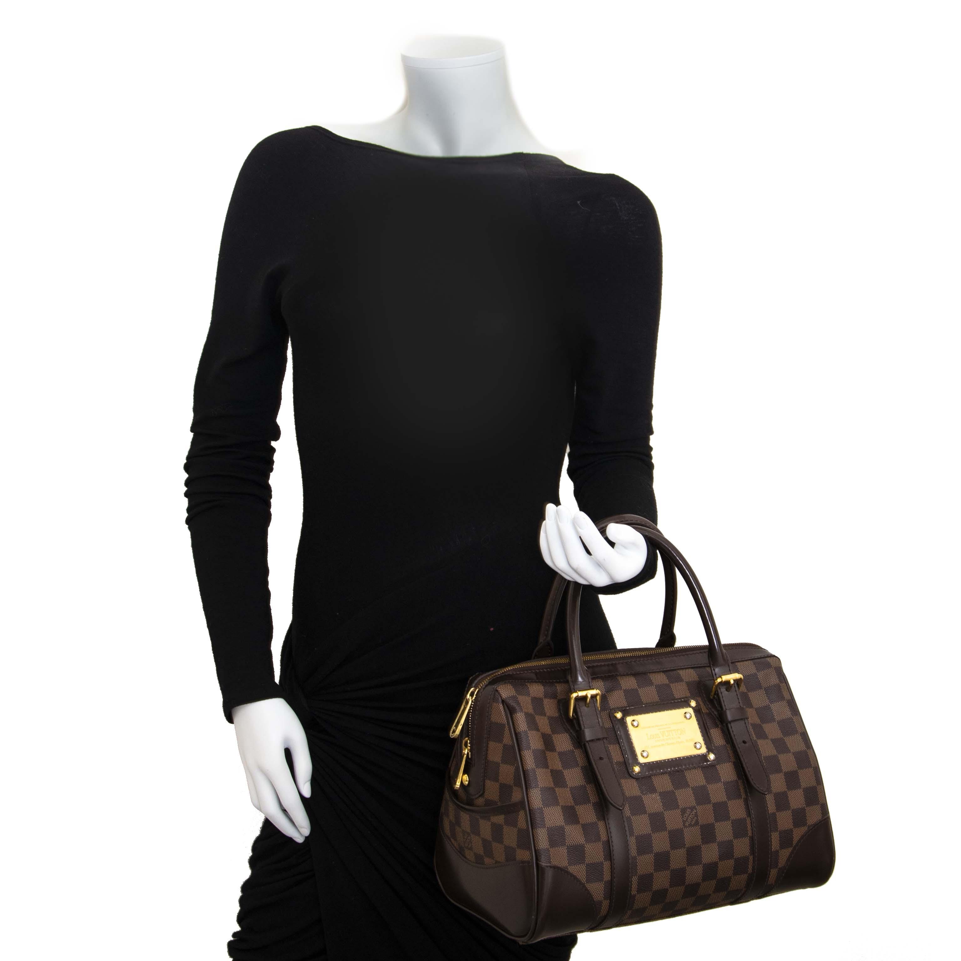 Louis Vuitton Damier Ebene Berkeley Bag now for sale at labellov vintage fashion webshop belgium