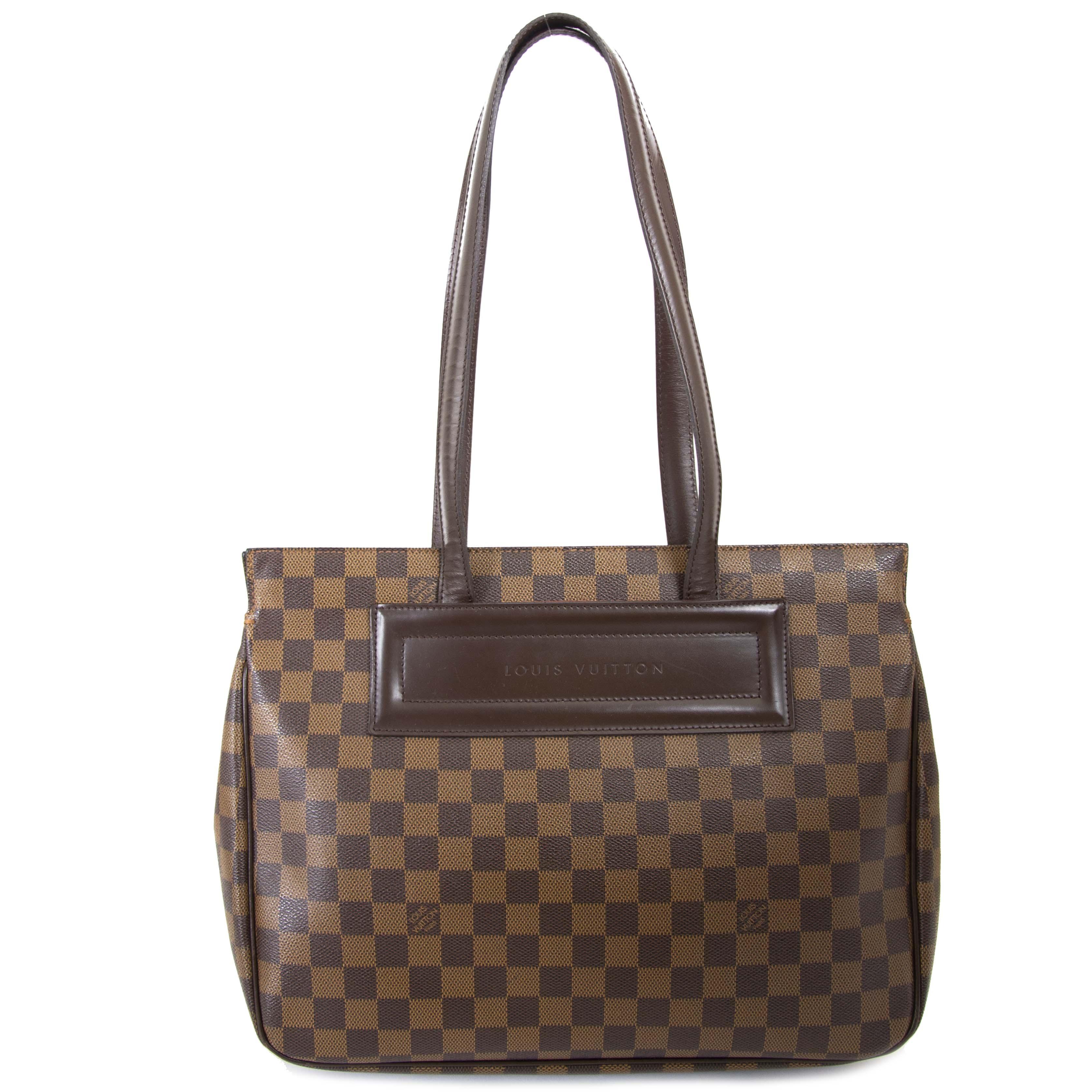 ... Louis Vuitton Monogram Damier Parioli Bag veilig tweedehands aankopen 100b6d3f7db