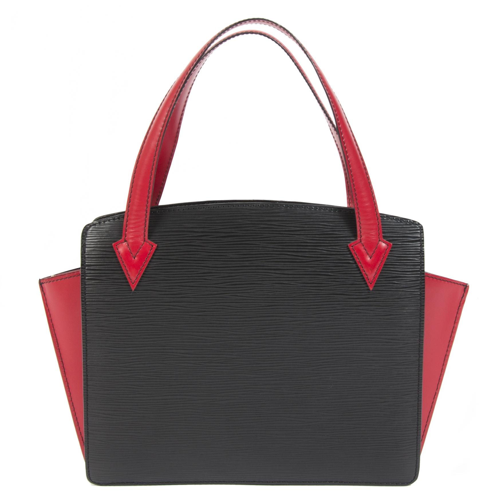 Louis Vuitton Epi Bi-Color Black/Red Varenne Duplex back