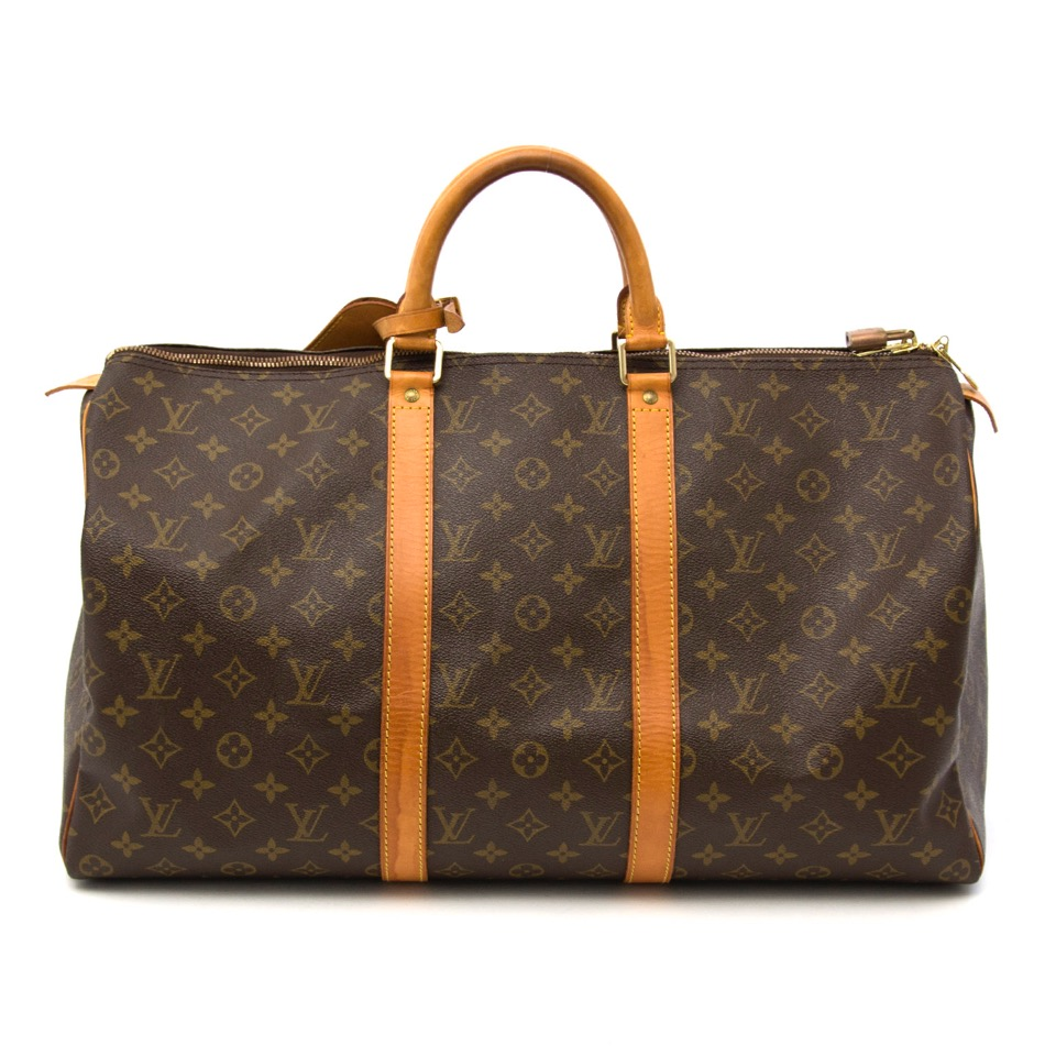 7546e67d058 Labellov Louis Vuitton Keepall 50 bag ○ Buy and Sell Authentic Luxury