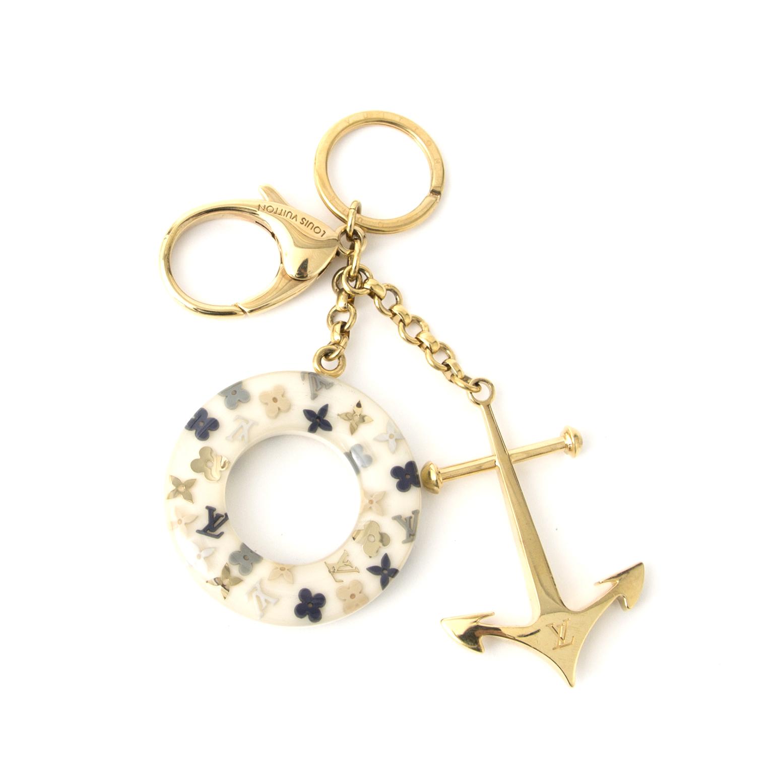 acheter en ligne pour le meilleur prix comme neuf Louis Vuitton Sailor Key Holder/ Charm Anvers, Belgique