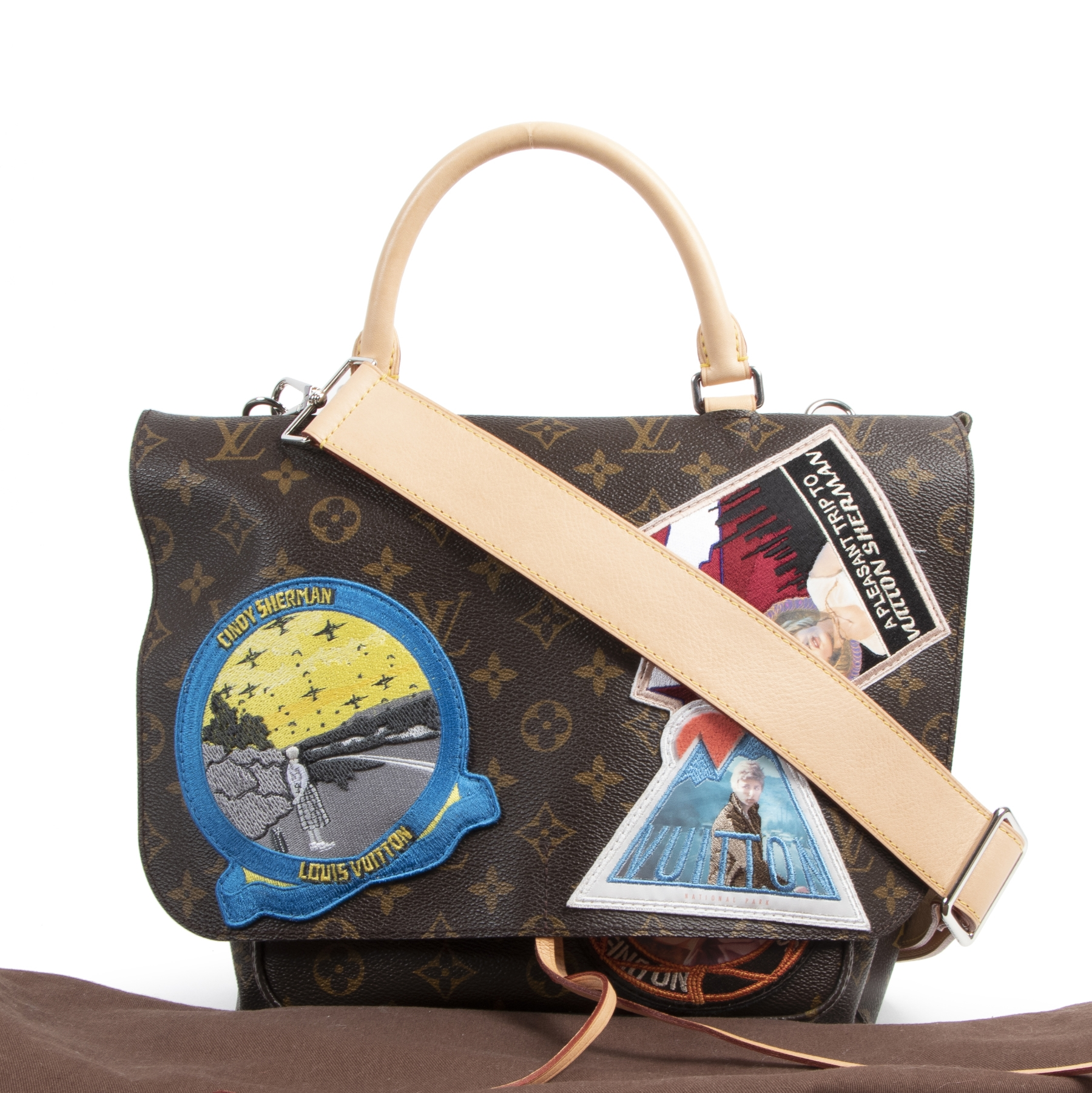 Louis Vuitton Limited Edition Cindy Sherman Messenger Bag
