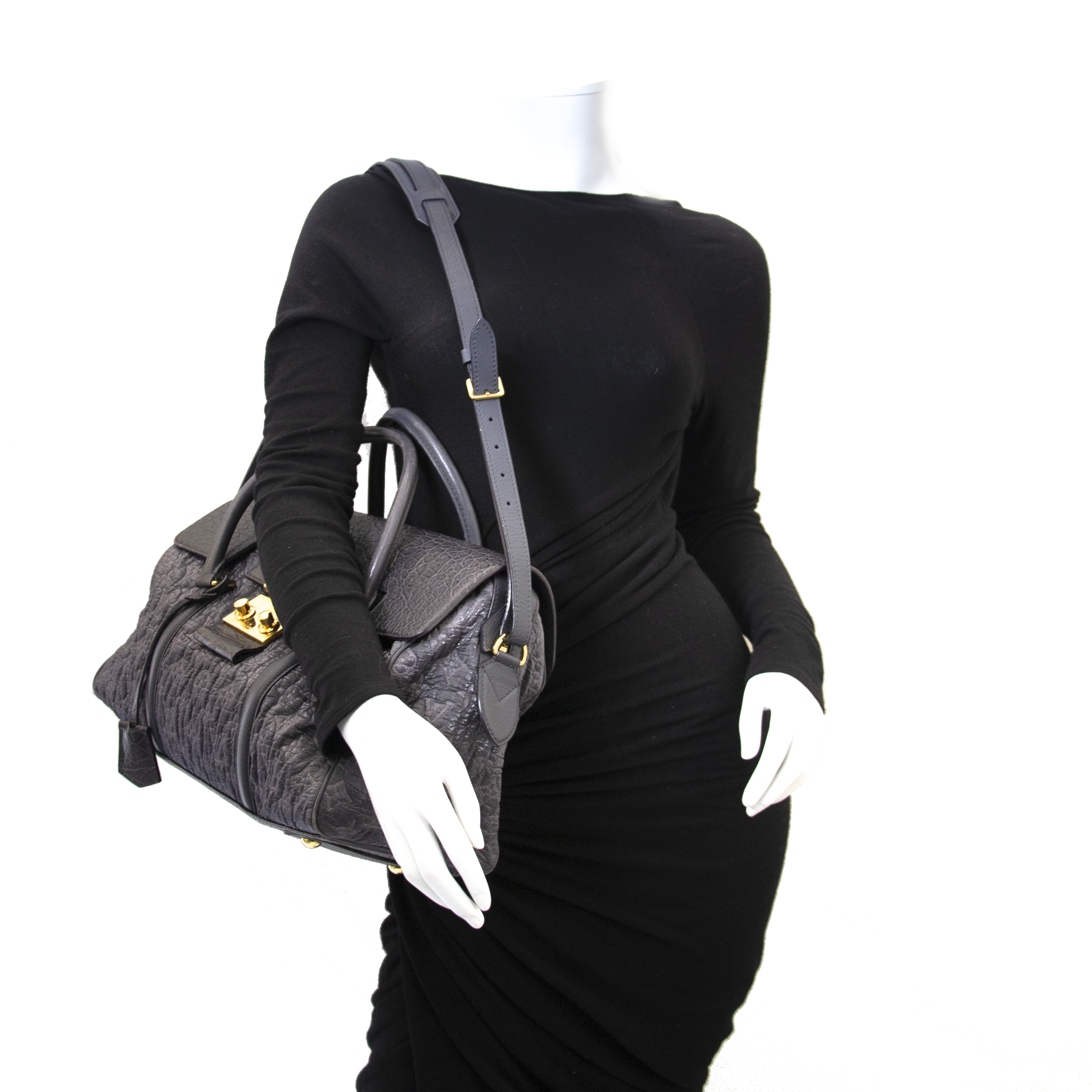 Louis Vuitton Limited Edition Monogram Volupte Psyche Bag