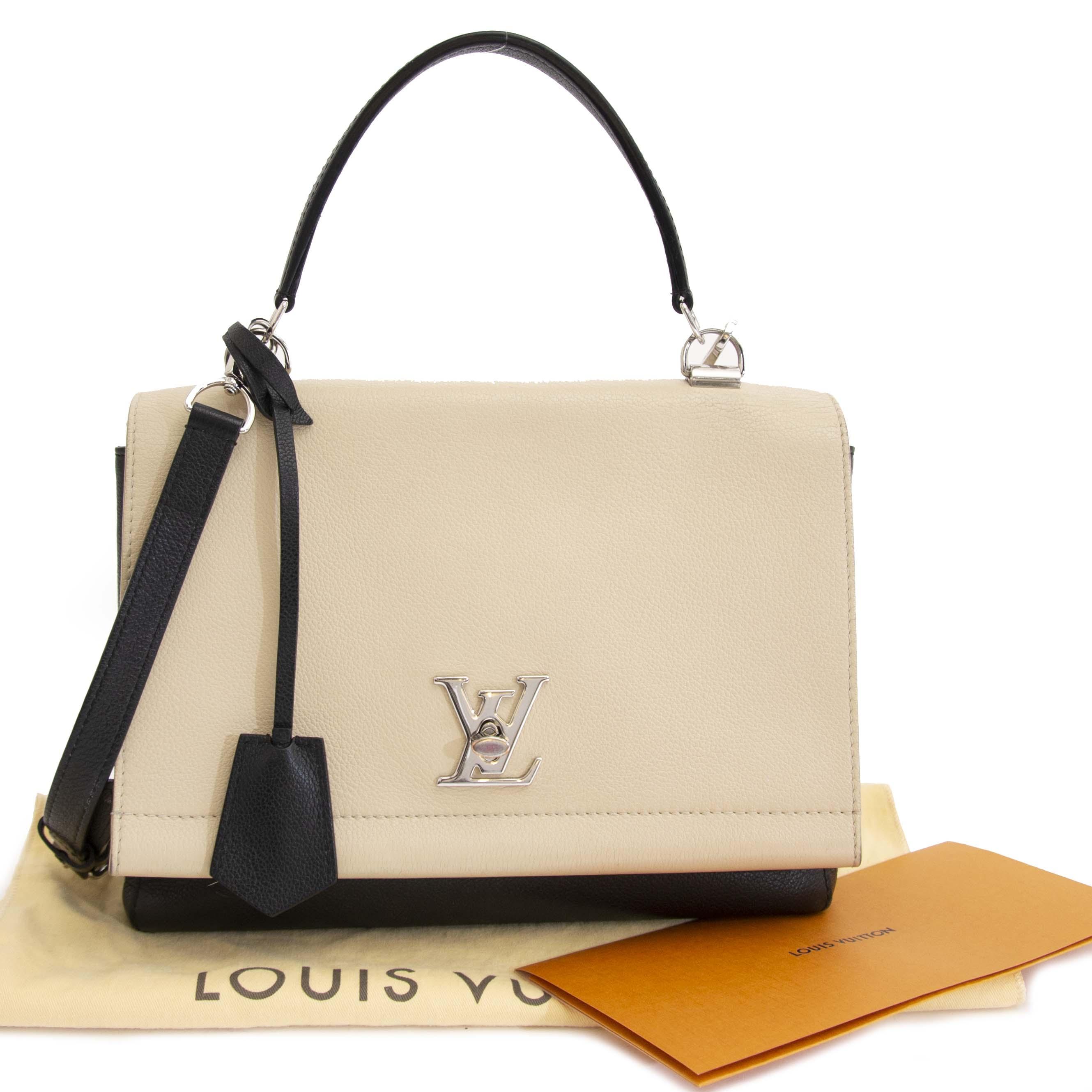 ... Shoulder Bag koop veilig online jou tweedehands acheter en ligne  seconde main Louis Vuitton Bicolor Lockme Noir Vanille 559d2a63b89b8