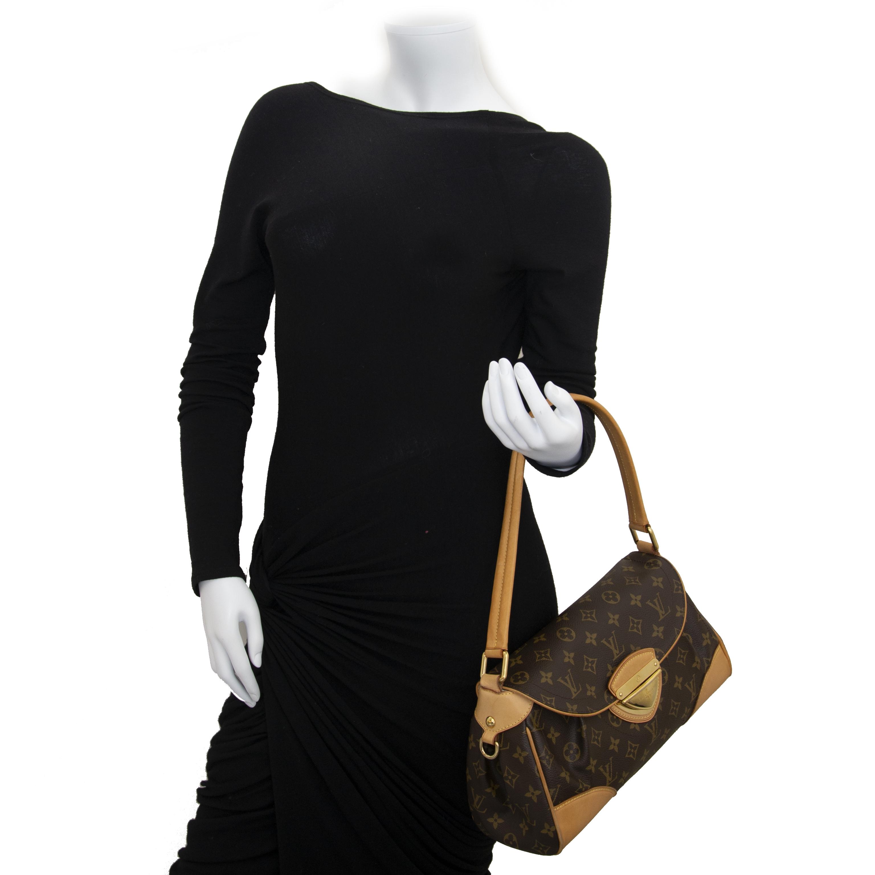 Louis Vuitton Monogram Beverly MM Bag now for sale at labellov vintage fashion webshop belgium