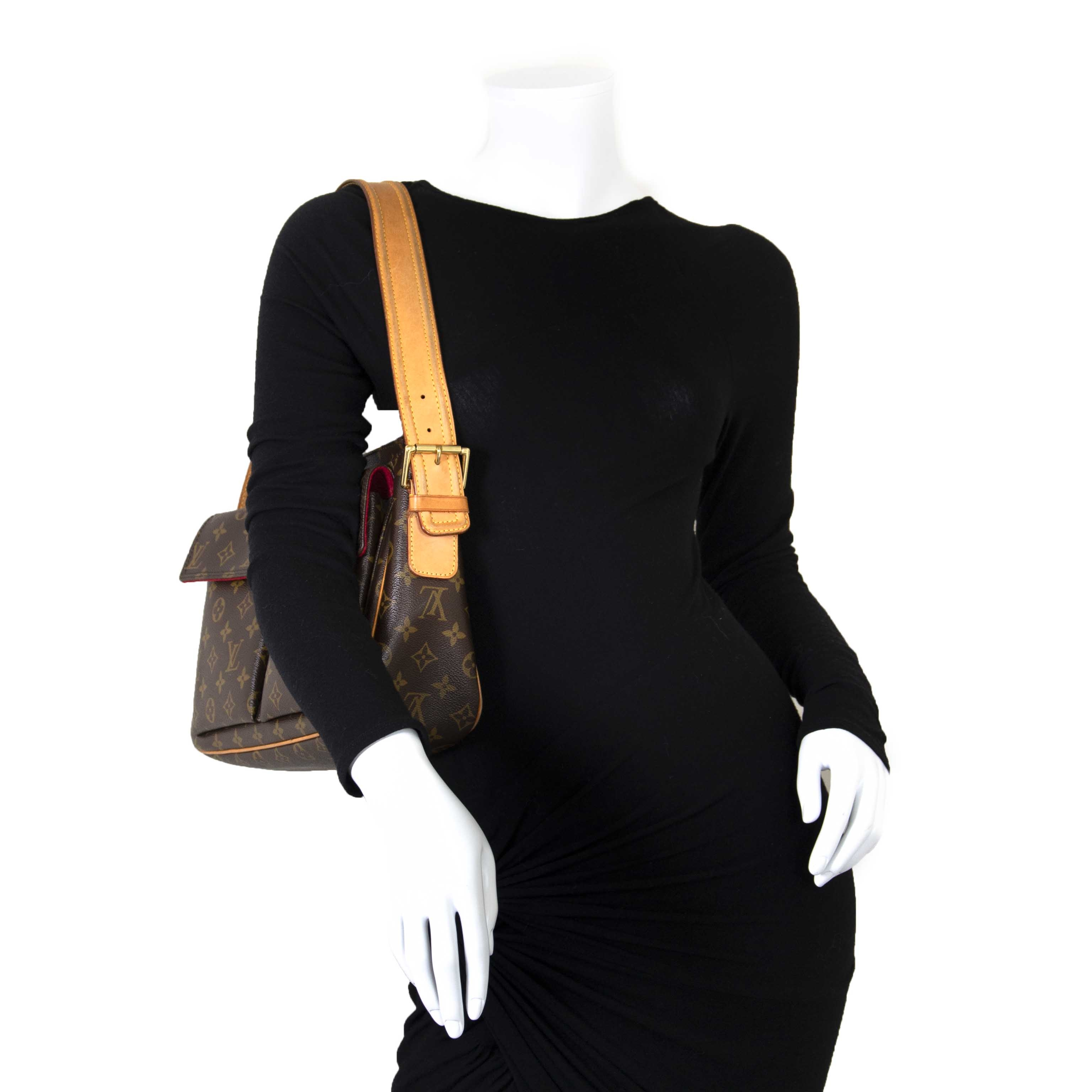 Louis Vuitton Monogram Viva Cite GM Shoulder Bag now for sale at labellov vintage fashion webshop belgium