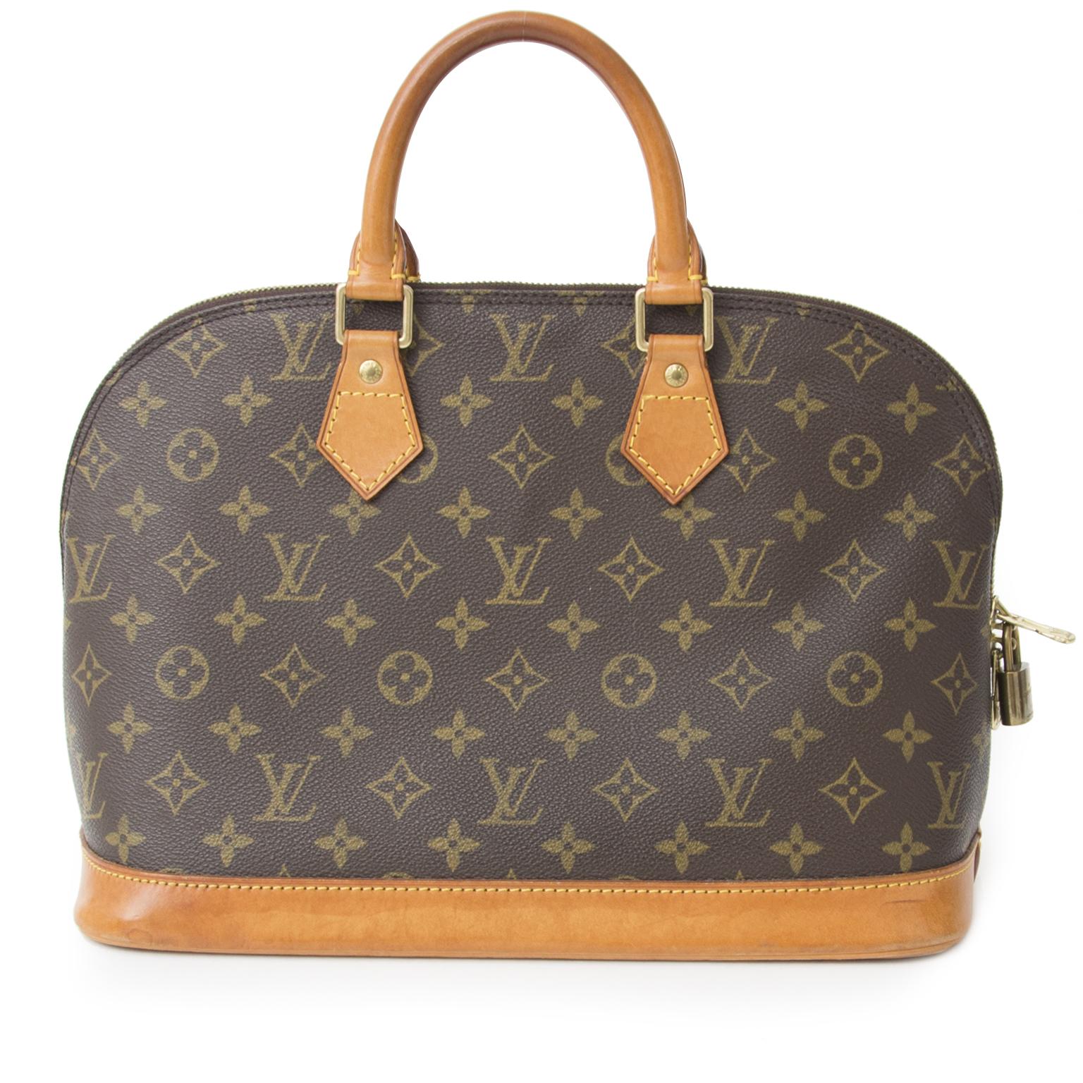 1b4735254dd Veilig online Authentieke Louis Vuitton Monogram Alma voor de juiste prijs  bij LabelLOV vintage webshop. Veilig online