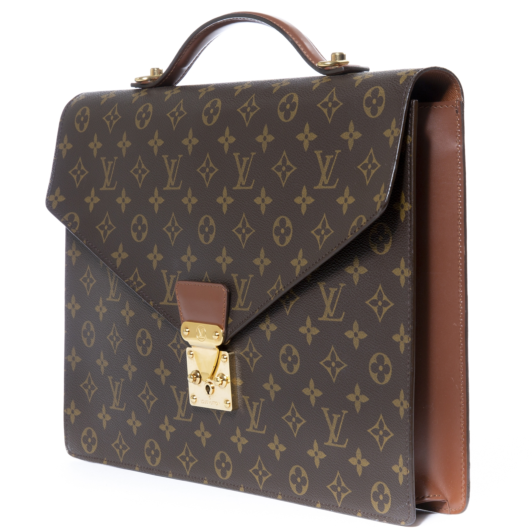 f077f963869fe ... buy authentic louis vuitton monogram conseiller briefcase at labellov  vintage webshop for the lowest price