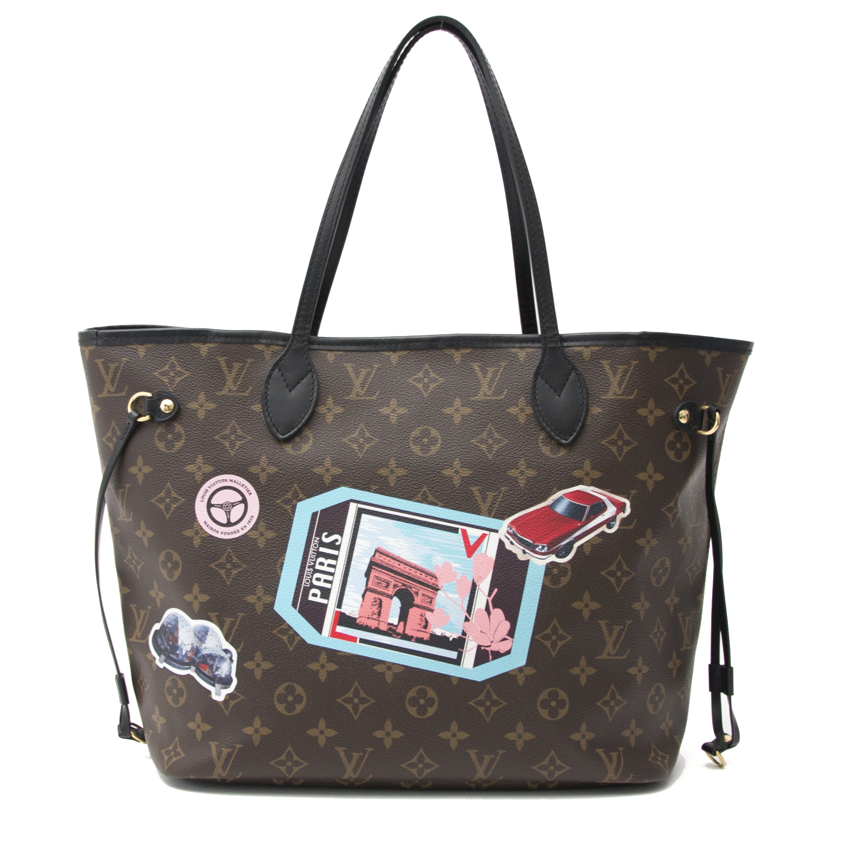 742a8ae79975 ... Koop uw authentieke Louis Vuitton Neverfull World City Tour MM bij  Labellov in Antwerpen