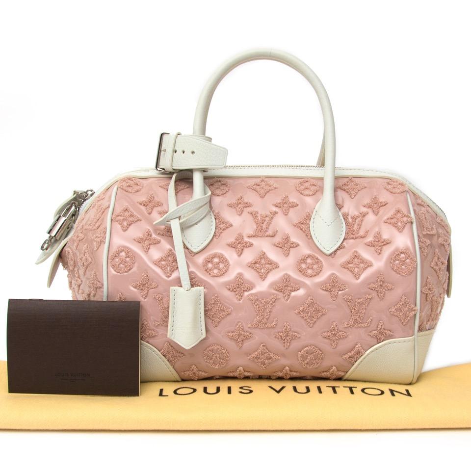 acheter en ligne seconde main sac a main Louis Vuitton Pink Monogram Bouclettes comme neuf