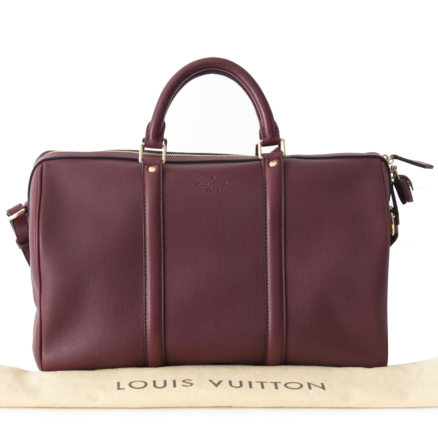aa56150980a0 ... shop safe and secure your designer Louis Vuitton Burgundy SC Bag MM  webshop labellov.com