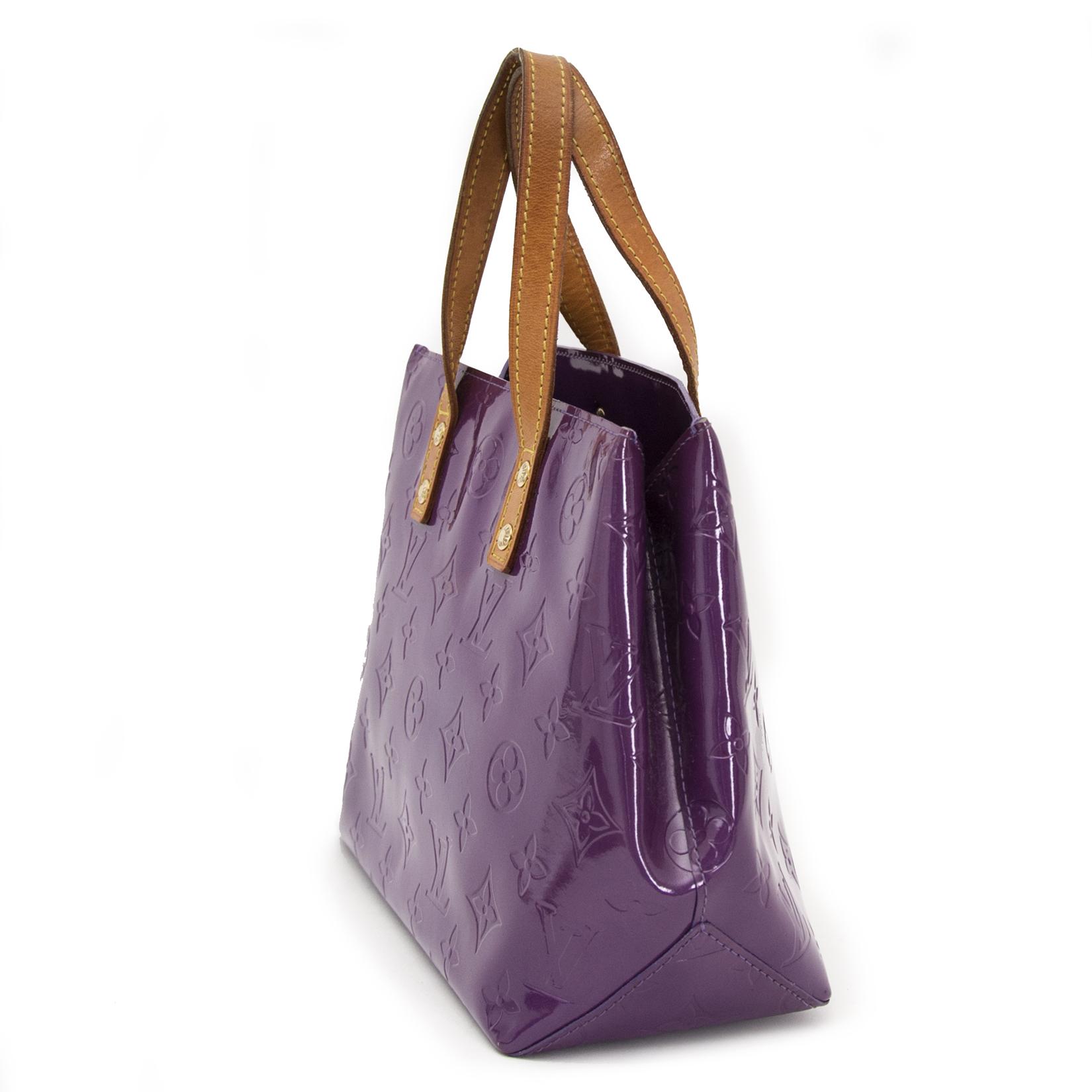 looking for a secondhand Louis Vuitton Vernis Reade PM Violette Top Handle Bag