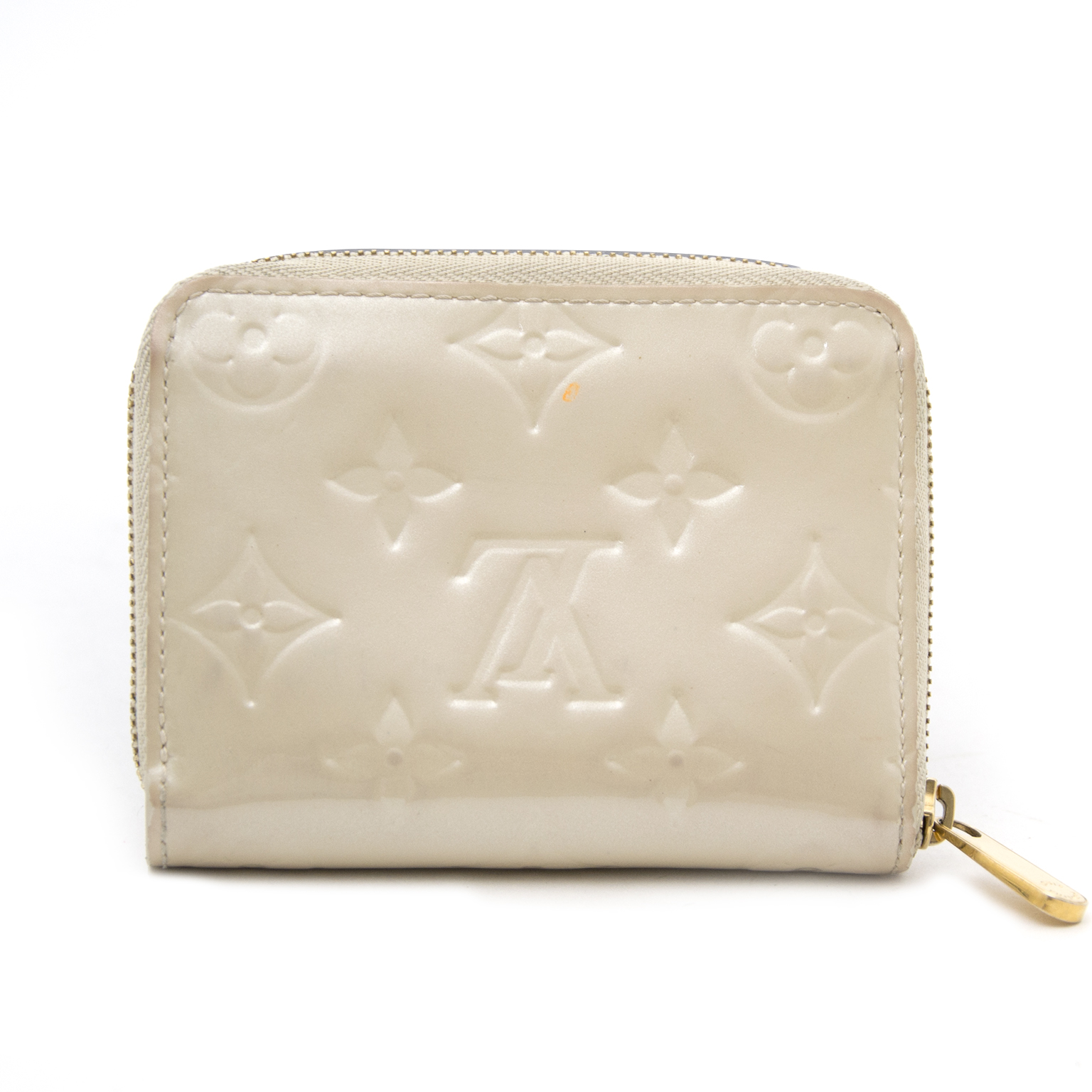 Shop safe online aan de beste prijs Louis Vuitton Perle Zippy Wallet