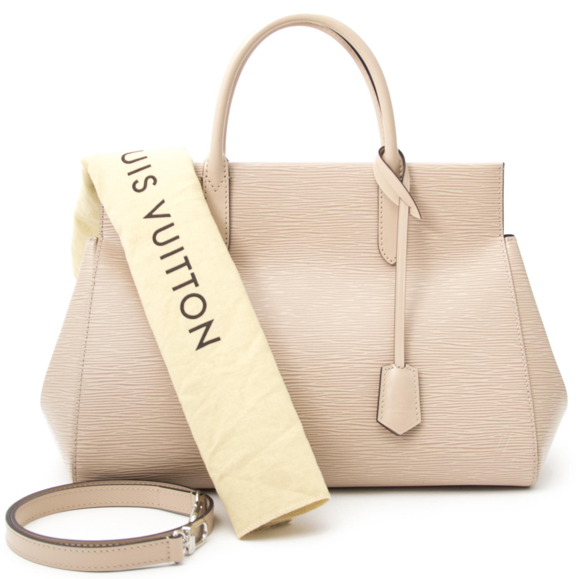 shop veilig online jou tweedehands Louis Vuitton Epi Marly nude