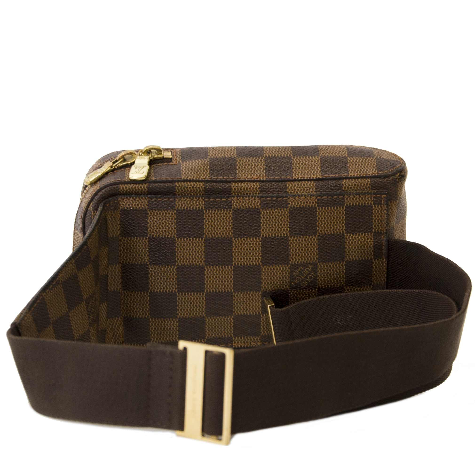 Louis Vuitton Brown Damier Ebene Geronimos Waist Bag
