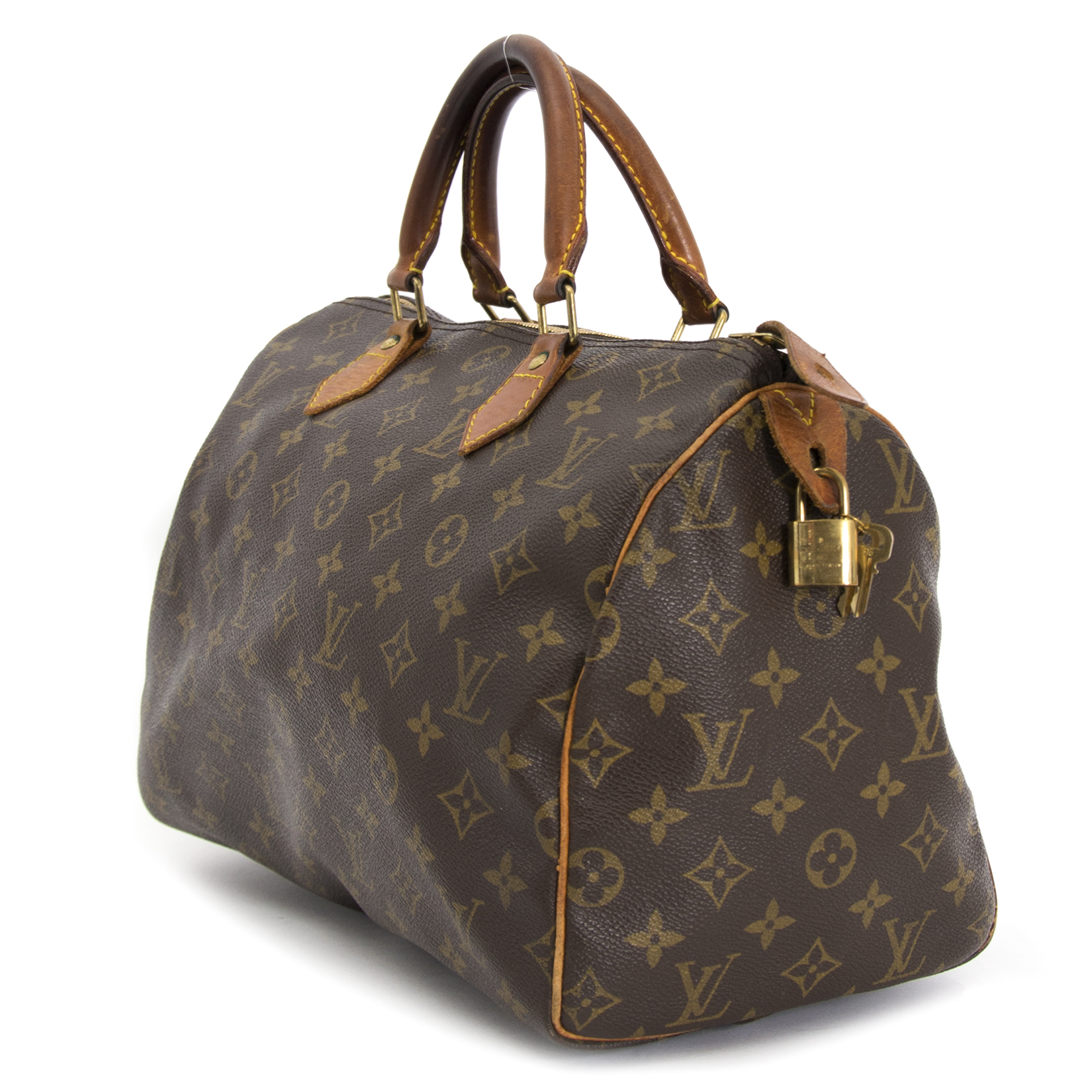 acheter en ligne seconde main  Louis Vuitton Monogram Speedy 30