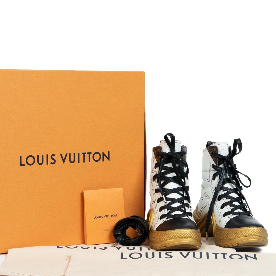 Louis Vuitton LV Archlight Sneaker Boot - size 36 pour le meileur prix chez Labellov à Anvers