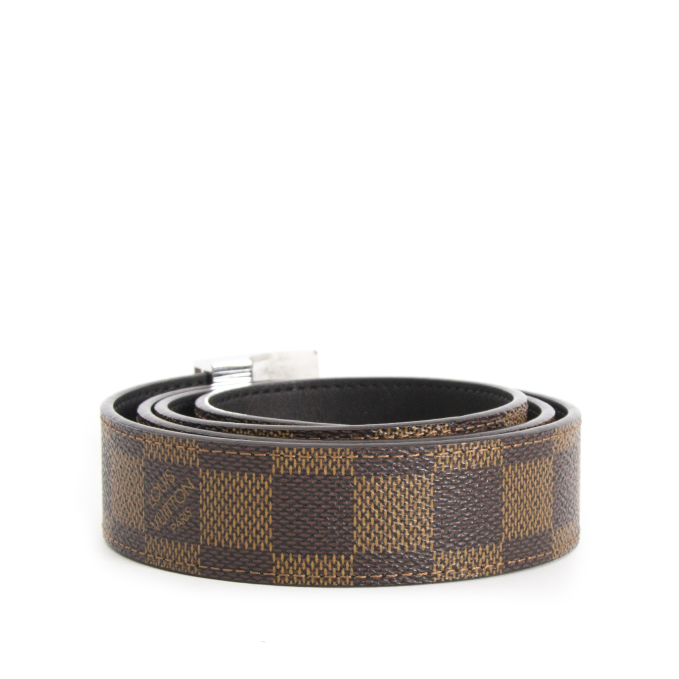 Buy your authentic Louis Vuitton Damier Belt  for the best price