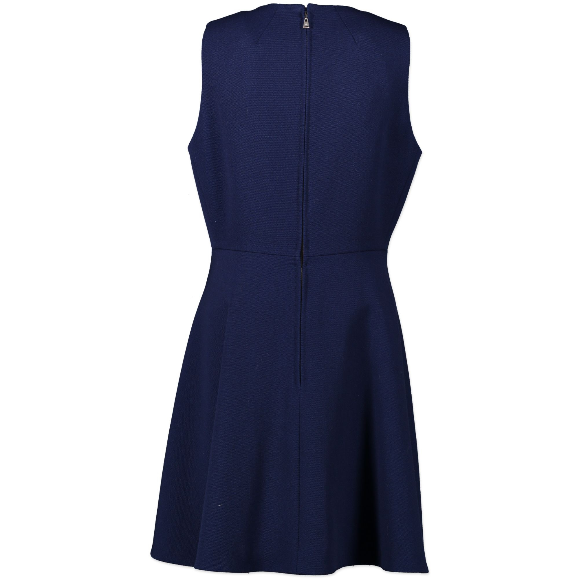 Louis Vuitton Blue Skater Dress - size 42
