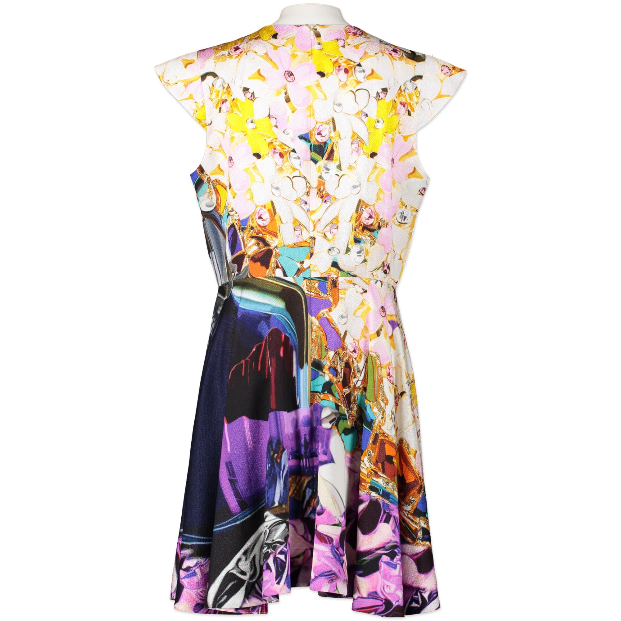 Mary Katrantzou Printed Dress for sale online at Labellov secondhand vintage designer bags online at Labellov