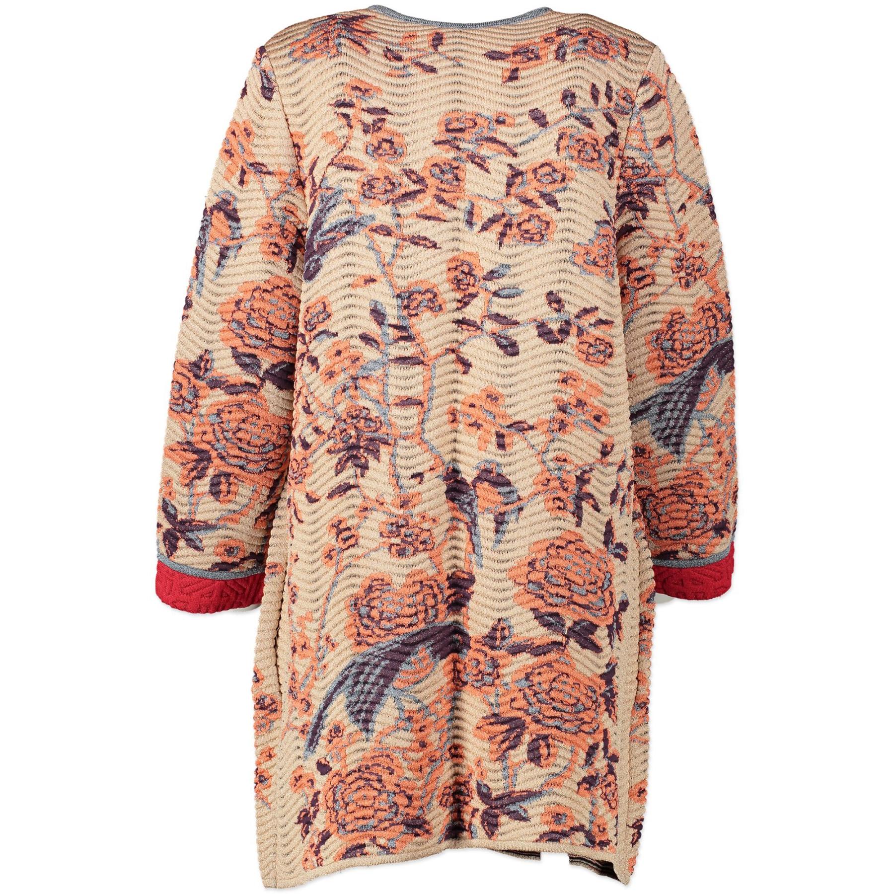 Missoni Crochet Vest With Flowers - IT size 44