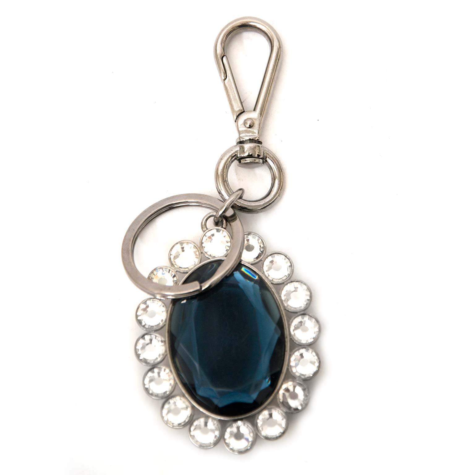 Miu Miu crystal bag charms nu online bij labellov vintage mode webshop belgië