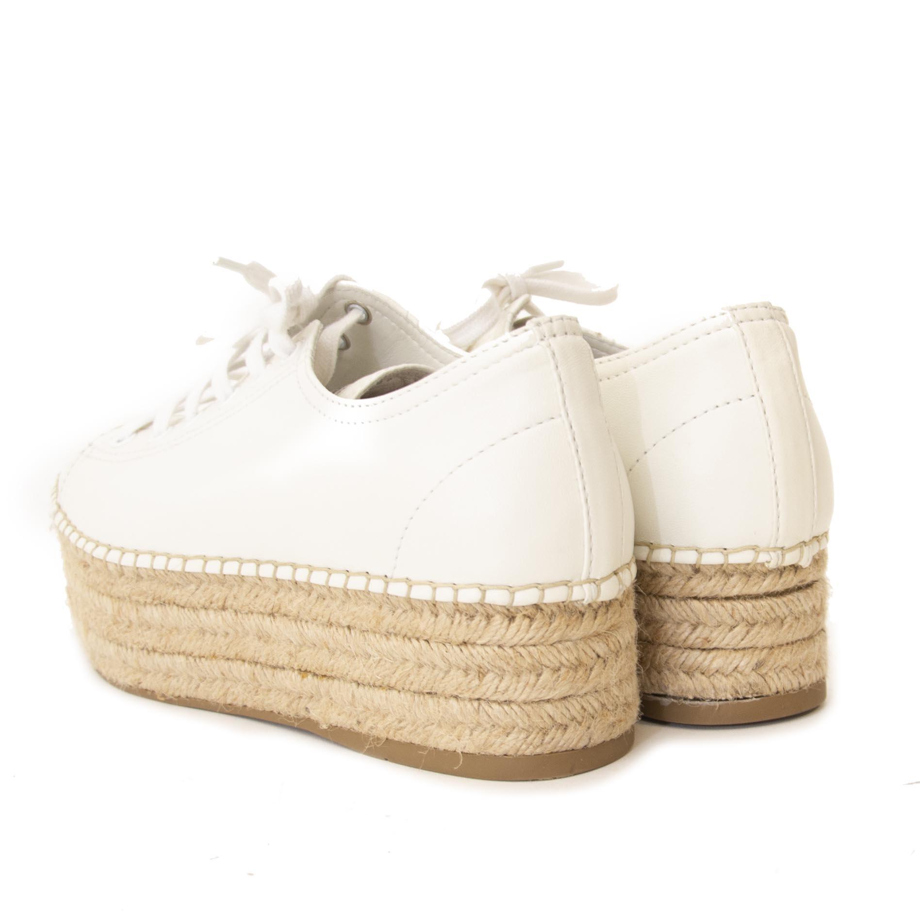 Miu Miu Flatform Espadrille Shoes kopen en verkopen aan de beste prijs bij Labellov