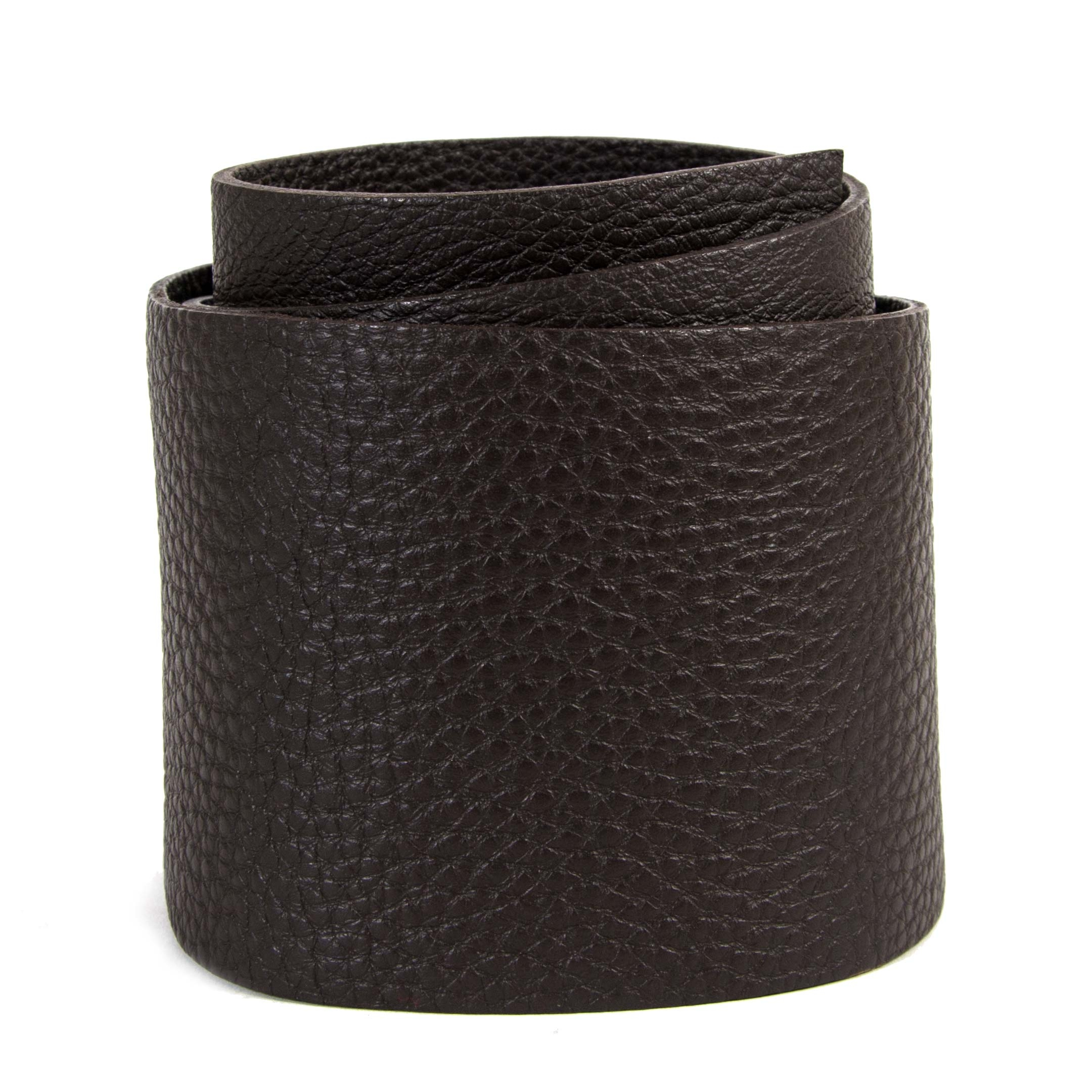 Miu Miu Oversized Leather Belt - Size 80 now for sale at labellov vintage fashion webshop belgium