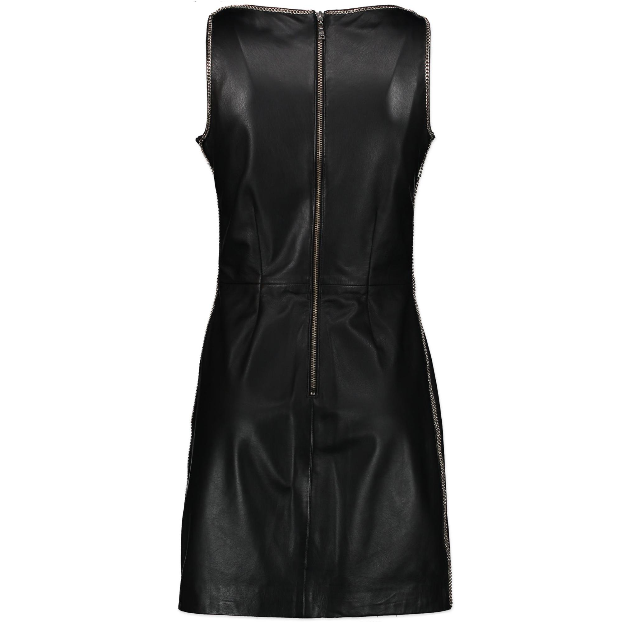 Love Moschino Leather Dress te koop bij Labellov tweedehands luxe