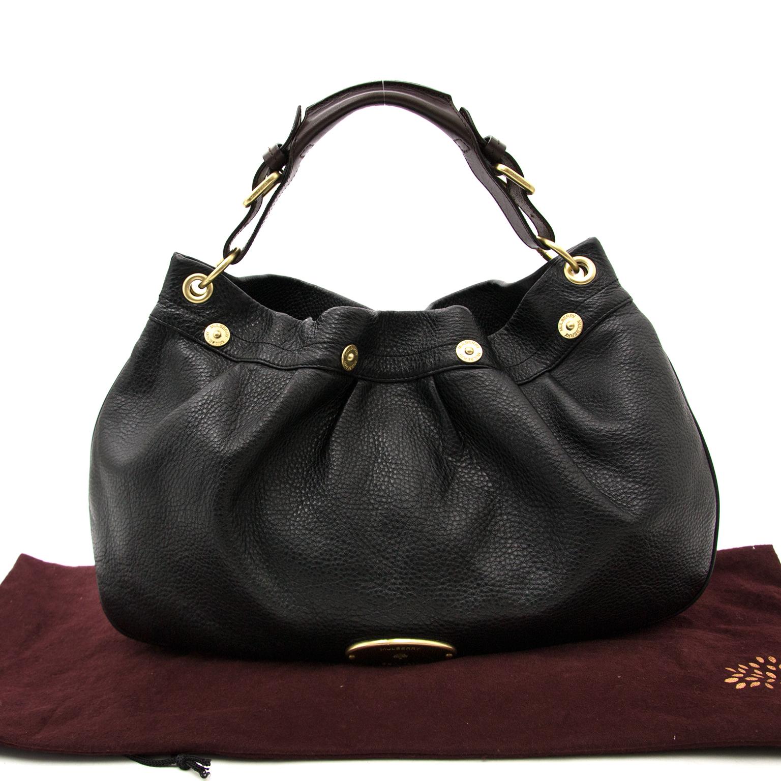 Mulberry Mitzy Handtasche Aus Schwarzes Leder heute online auf labellov.com gegen den besten Preis.