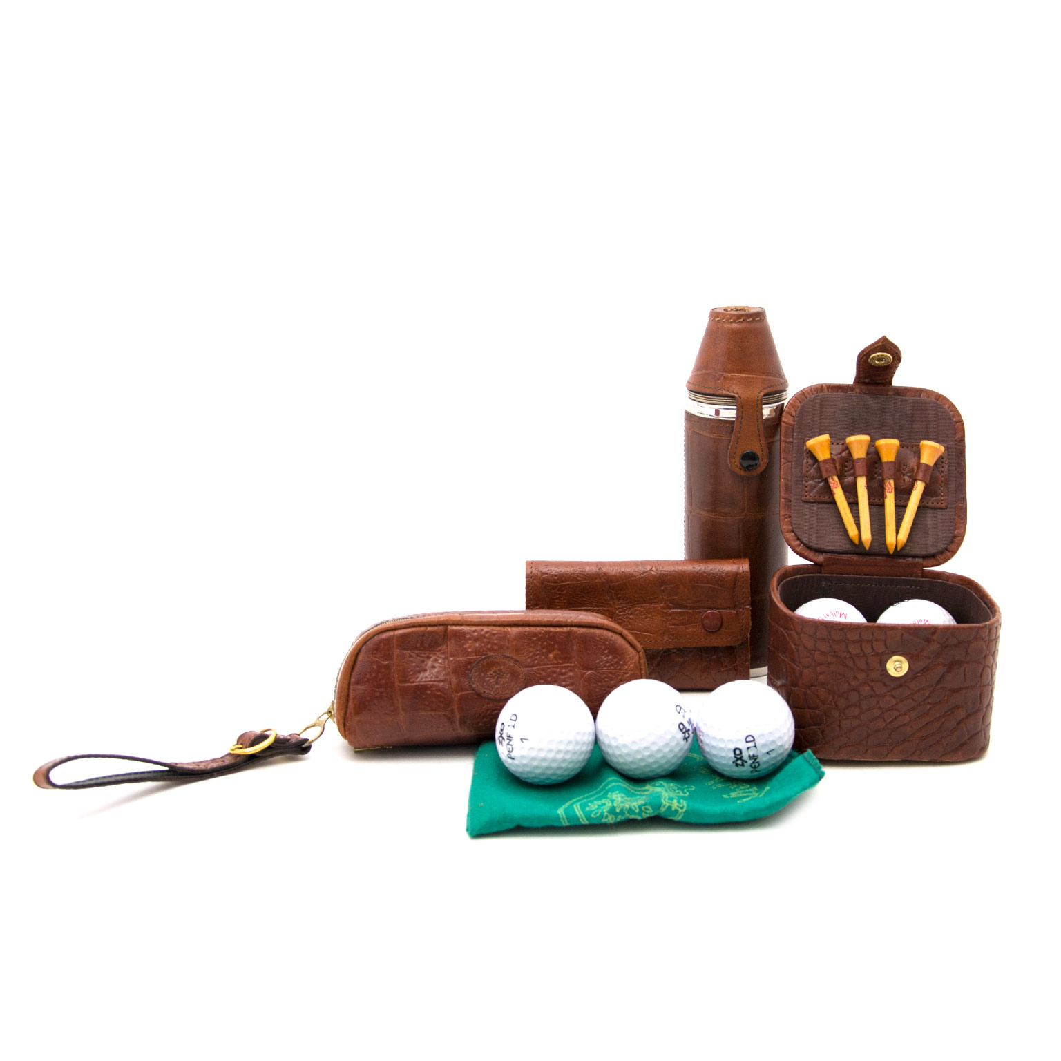 mulberry croco leather golfset now online at labellov.com for the best price