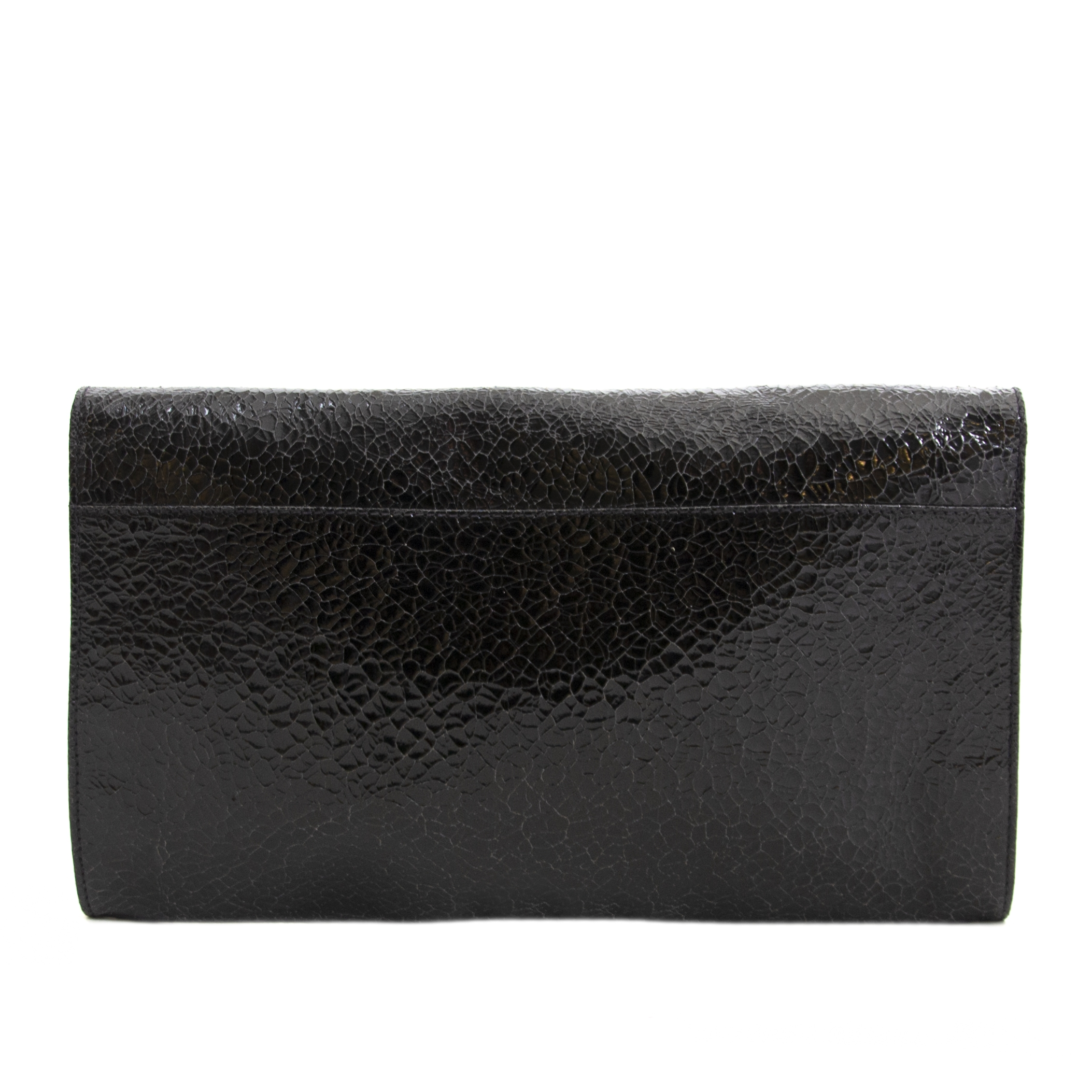 c853eb0e4d8 ... Authentic second hand vintage Mulberry Clutch Black buy online webshop  LabelLOV