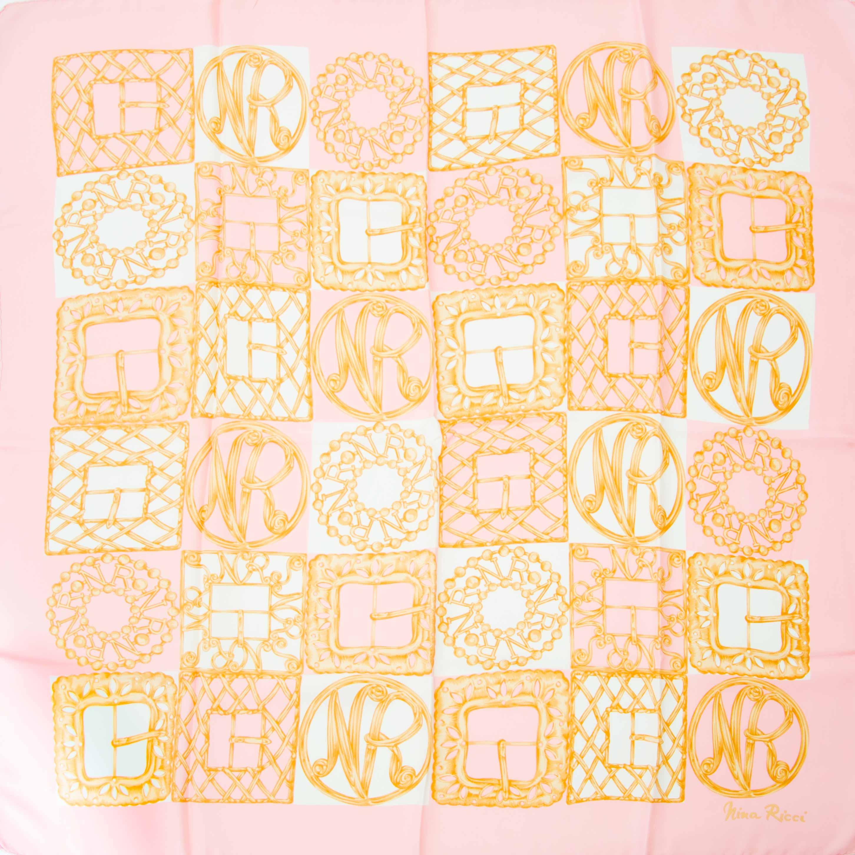 Bent u op zoek naar een authentieke Nina Ricci sjaal?
