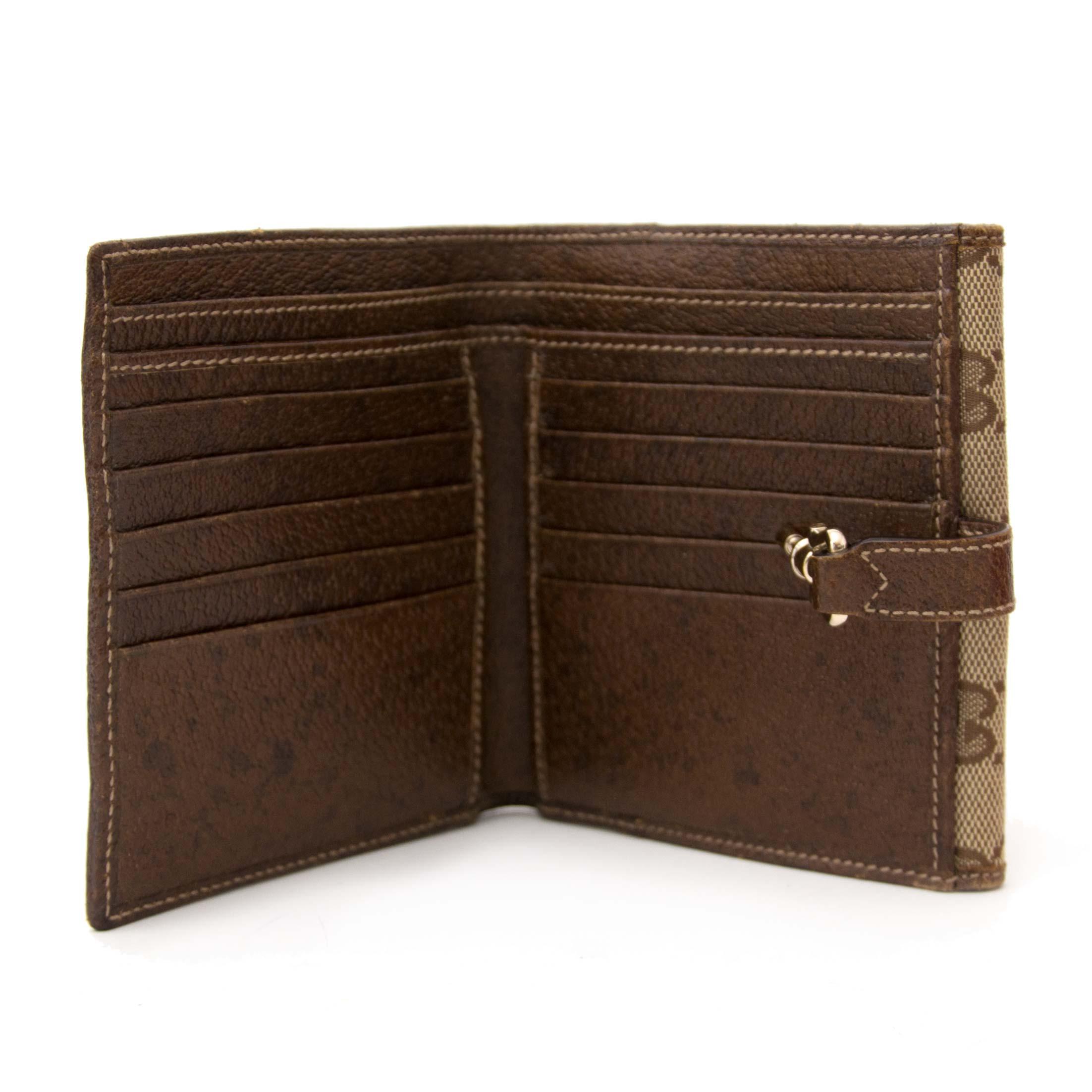 koop veilig online aan de beste prijs Gucci Monogram Wallet