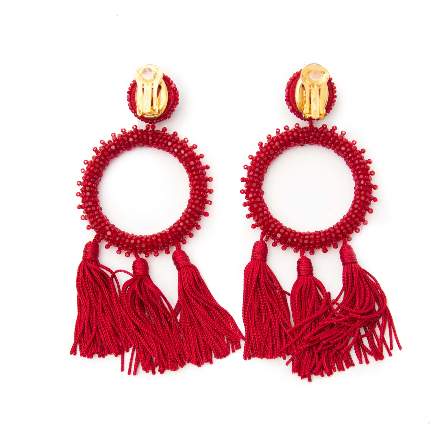 looking for oscar de la renta earrings? Now online at labellov.com for the best price
