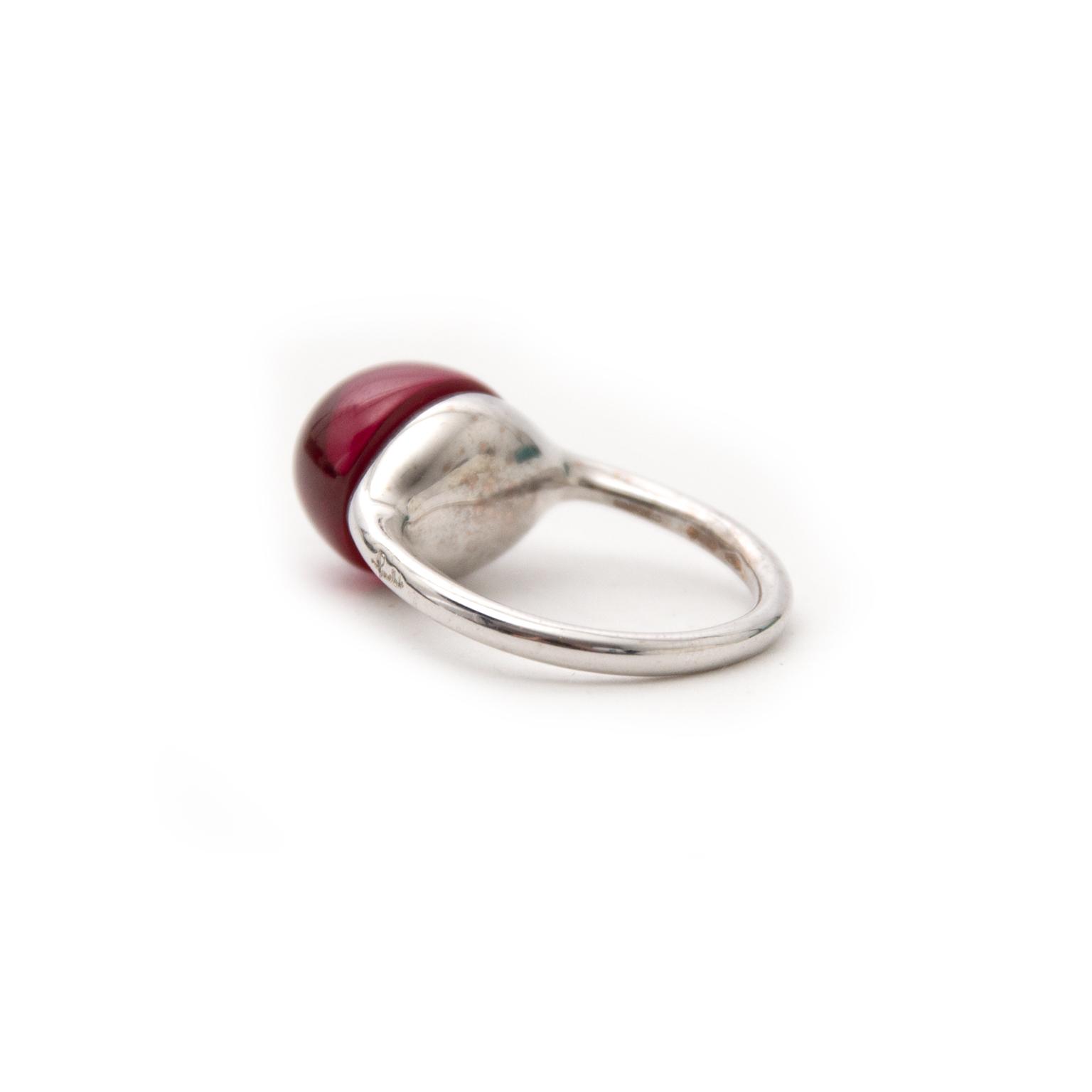 Pomellato Ring Rouge Passion Ruby Stone nu online bij labellov.com tegen de beste prijs