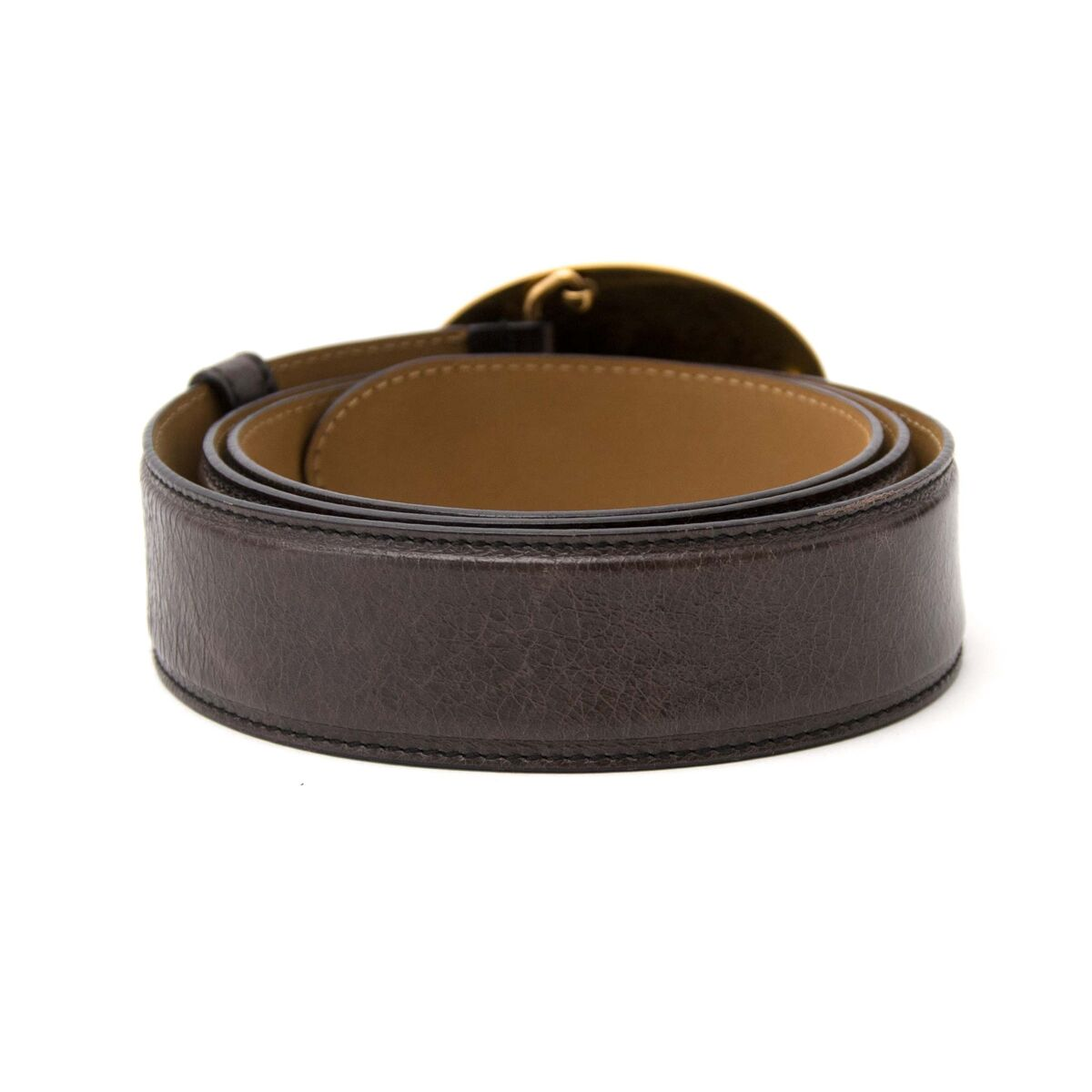 Koop authentieke tweedehands Prada zwarte riem in leder aan een eerlijke prijs bij LabelLOV. Veilig online shoppen.