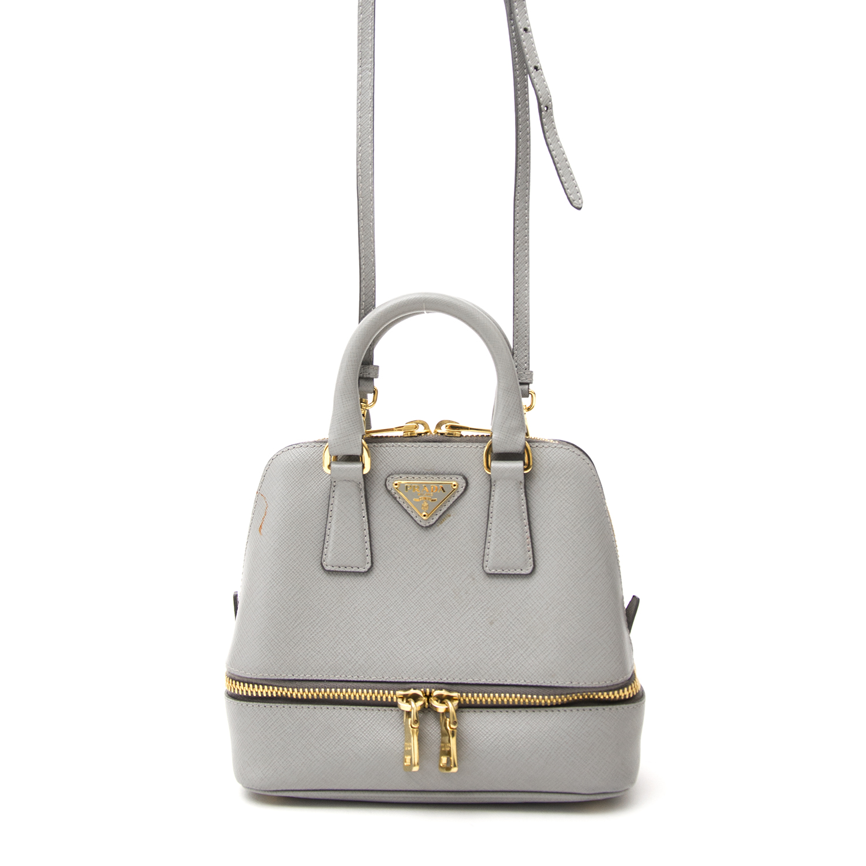 acheter en ligne pour le meilleur prix shop safe online secondhand Prada Mini Saffiano Promenade Bag