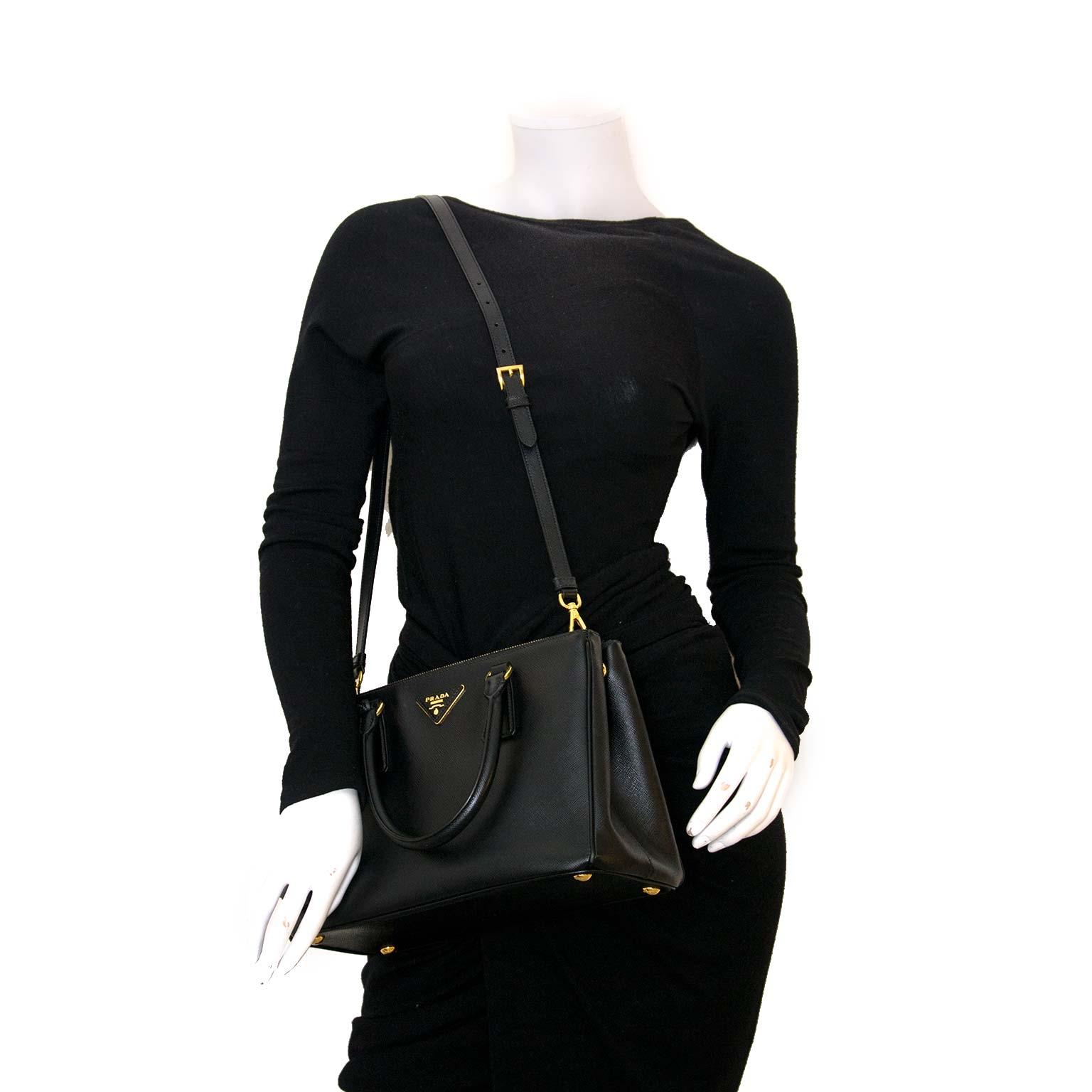 Prada Galleria tas nu online bij Labellov vintage webshop