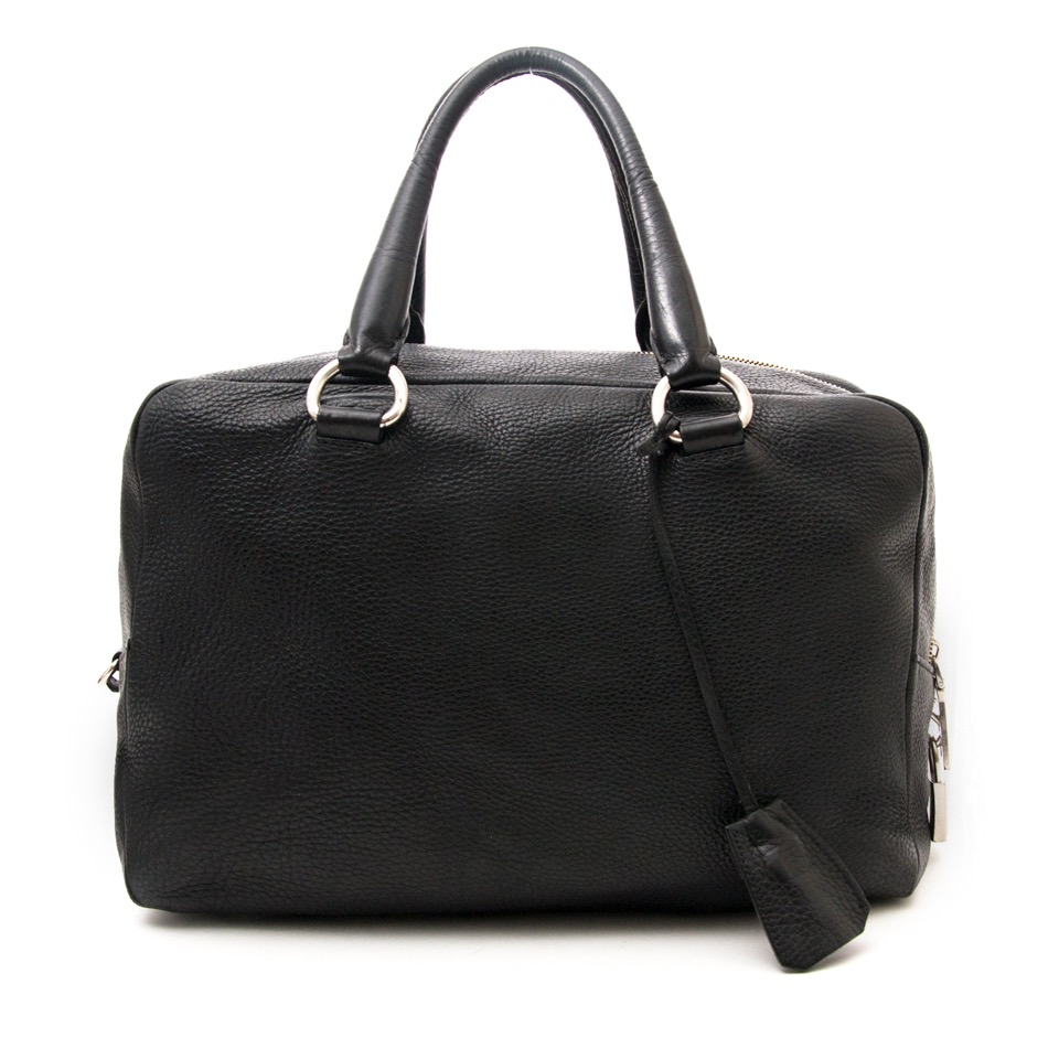 e8e590b370fc Safe and secure online Vintage Prada Boston bag for the best price at  Labellov webshop. Safe and secure online