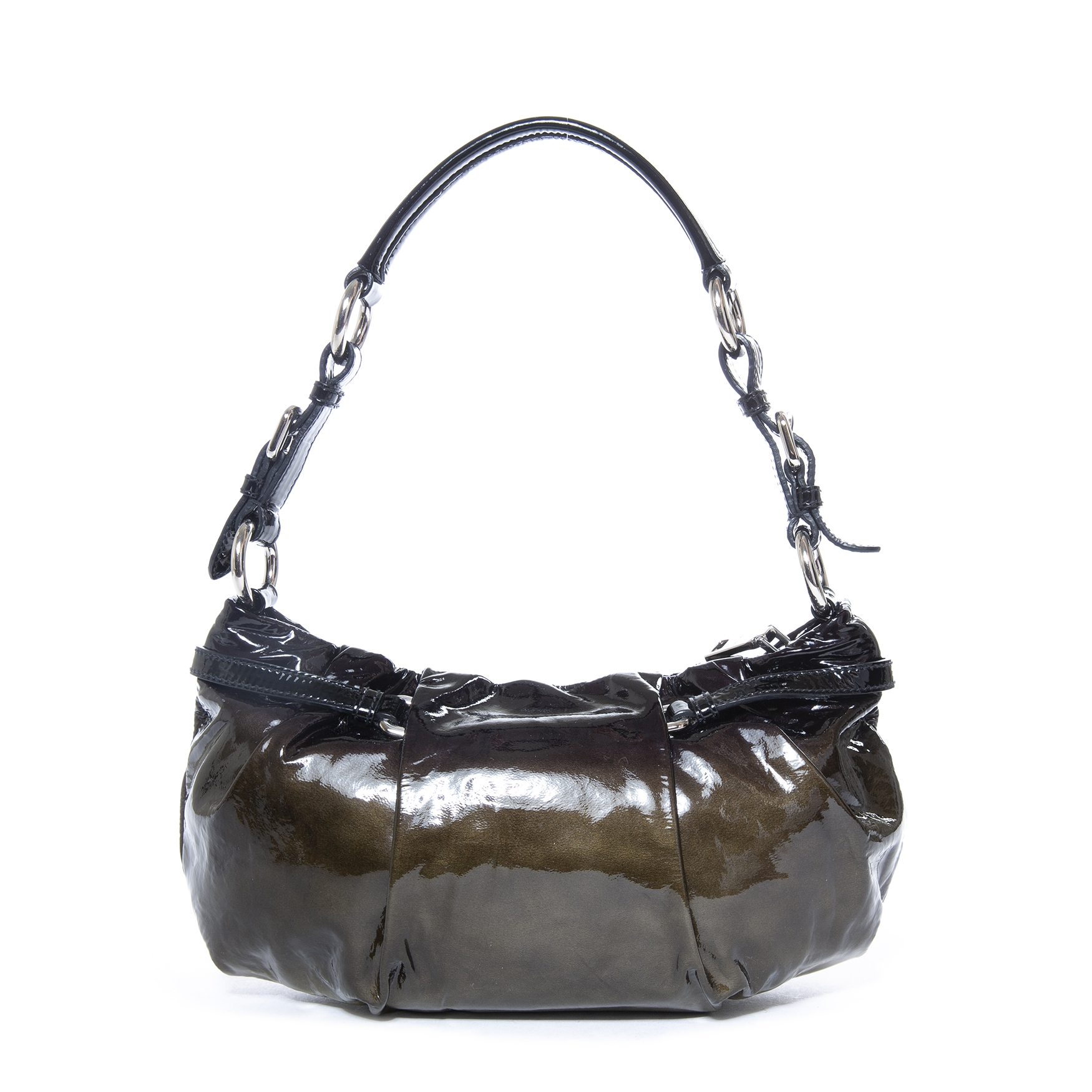 buy Prada Ombre Patent Shoulderbag  at labellov for the best price
