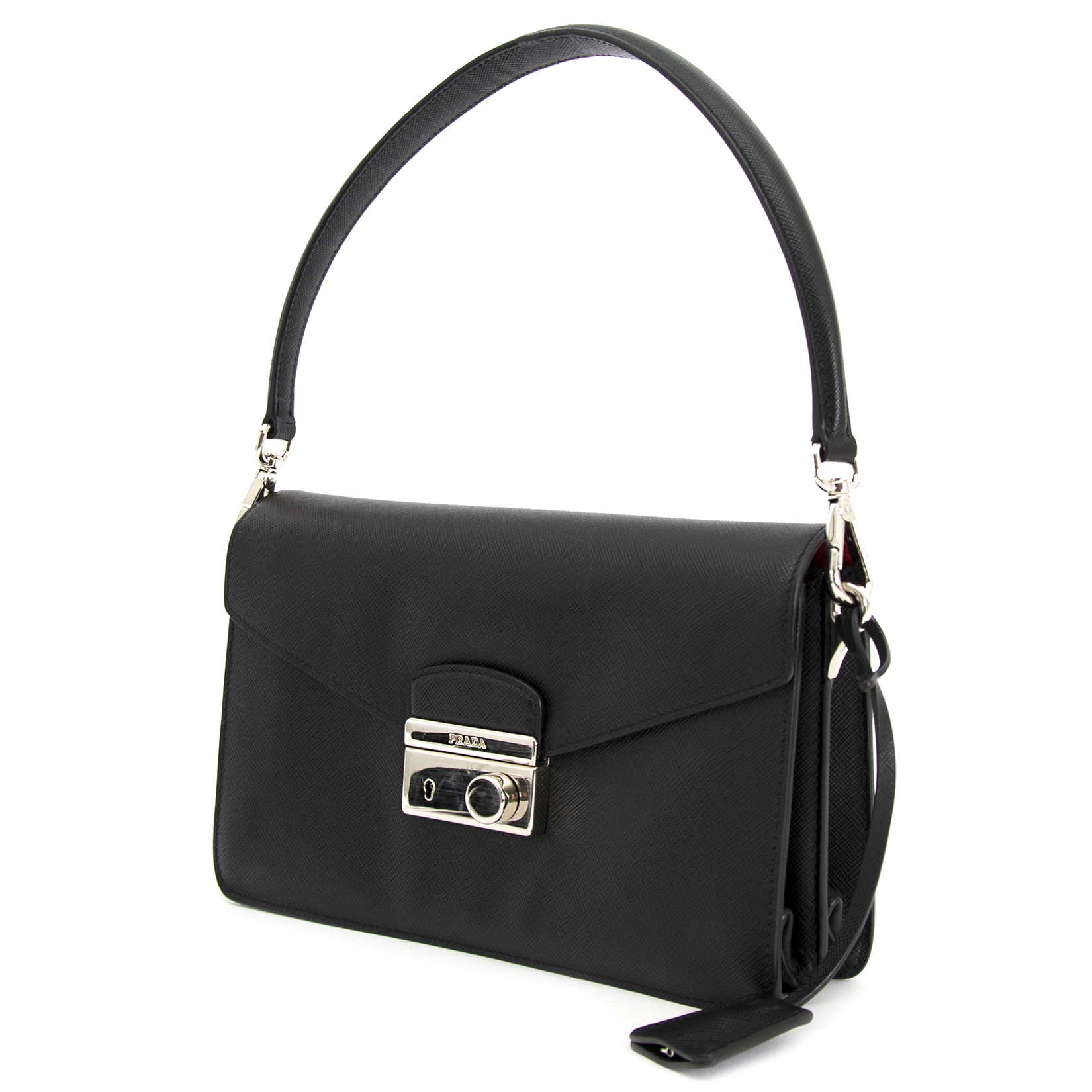 looking for a secondhand Prada Saffiano Leather Shoulder Bag