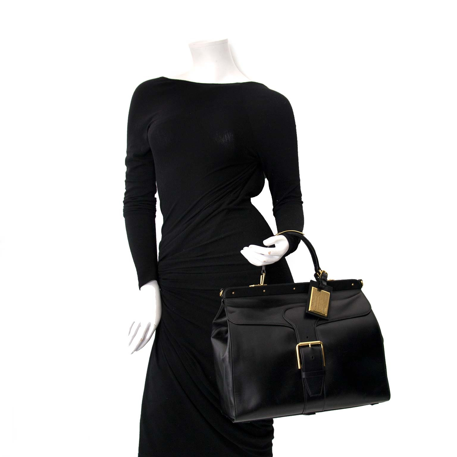 shop safe online secondhand ralph lauren sac malette boxcalf bag