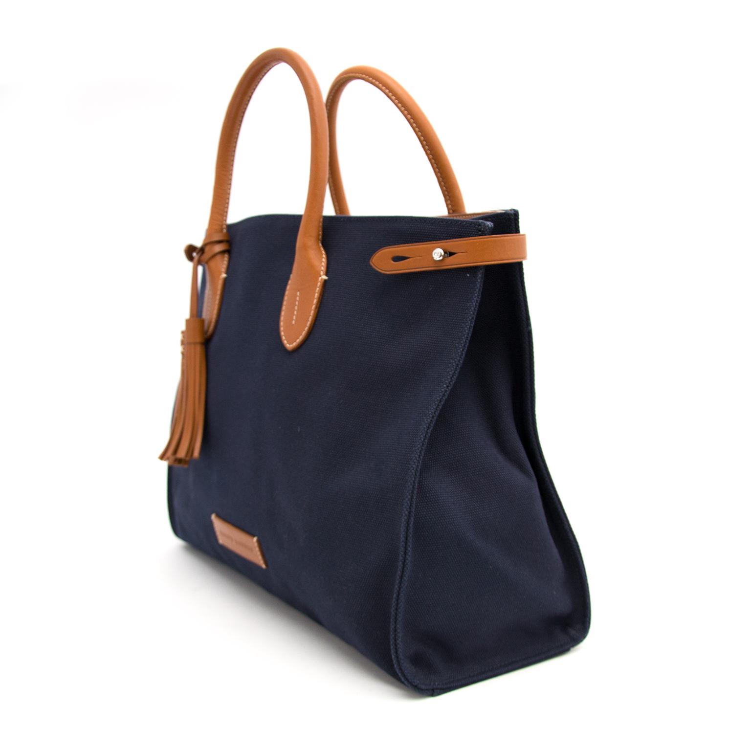 Buy a secondhand Ralph Lauren Blue Canvas Bag online