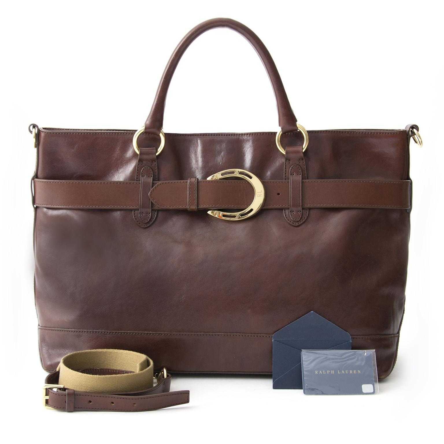 934f242b66a4 koop veilig online 100% authentieke tweedehands merktassen Ralph Lauren  Burgundy Handbag acheter en linge pour le meilleur prix sac a main Ralph  Lauren ...